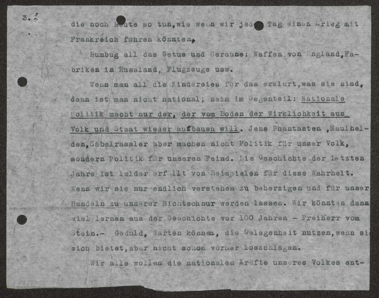 Rede Schalls in Göppingen über die deutsche Innenpolitik (Hitlerputsch), Bild 3