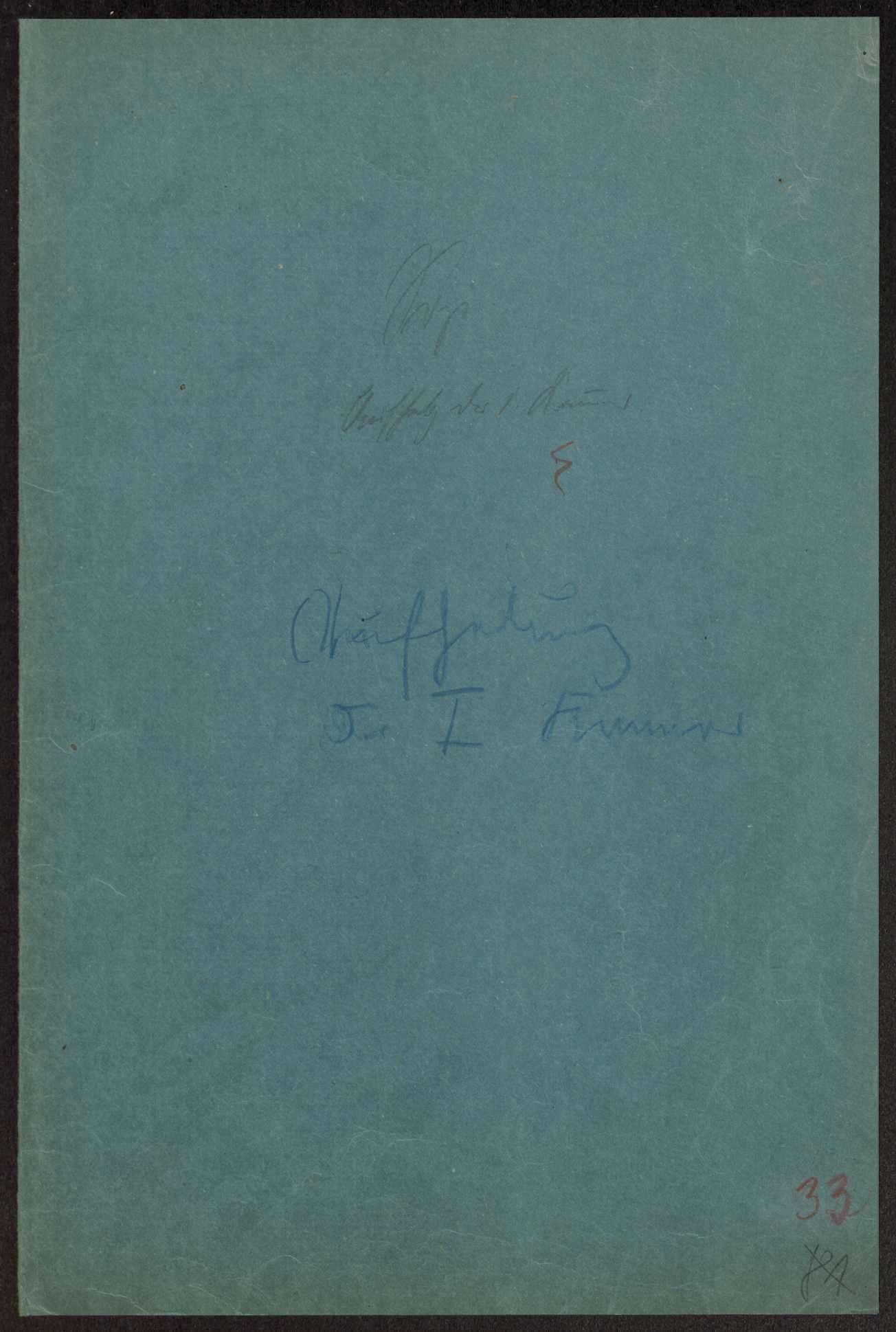 Verfassungsreform: Umbildung der Ersten Kammer Notizen Weizsäcker, Druckschriften und Zeitungsartikel, Bild 1