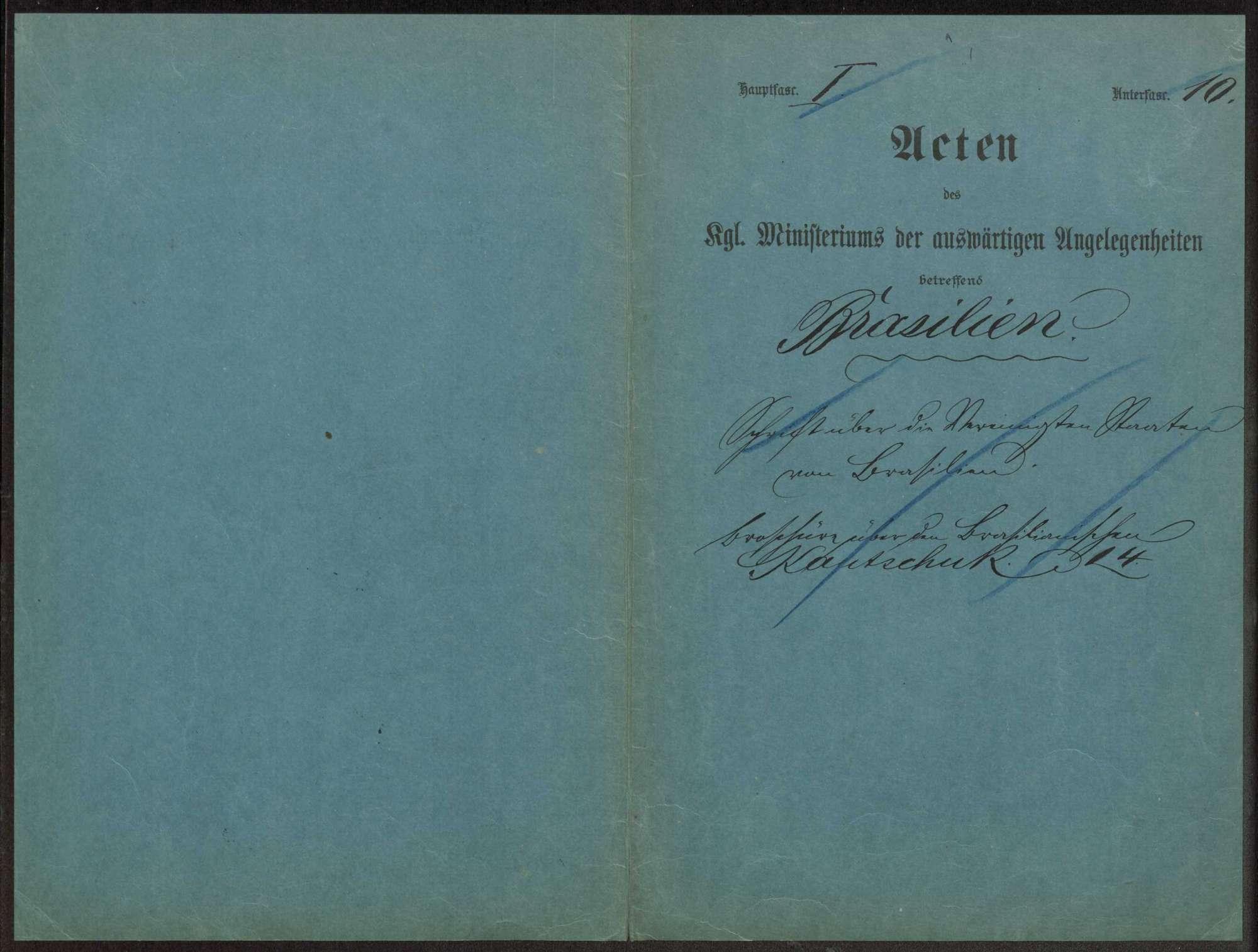 Verfassungsreform: Umbildung der Ersten Kammer Notizen Weizsäcker, Druckschriften und Zeitungsartikel, Bild 2