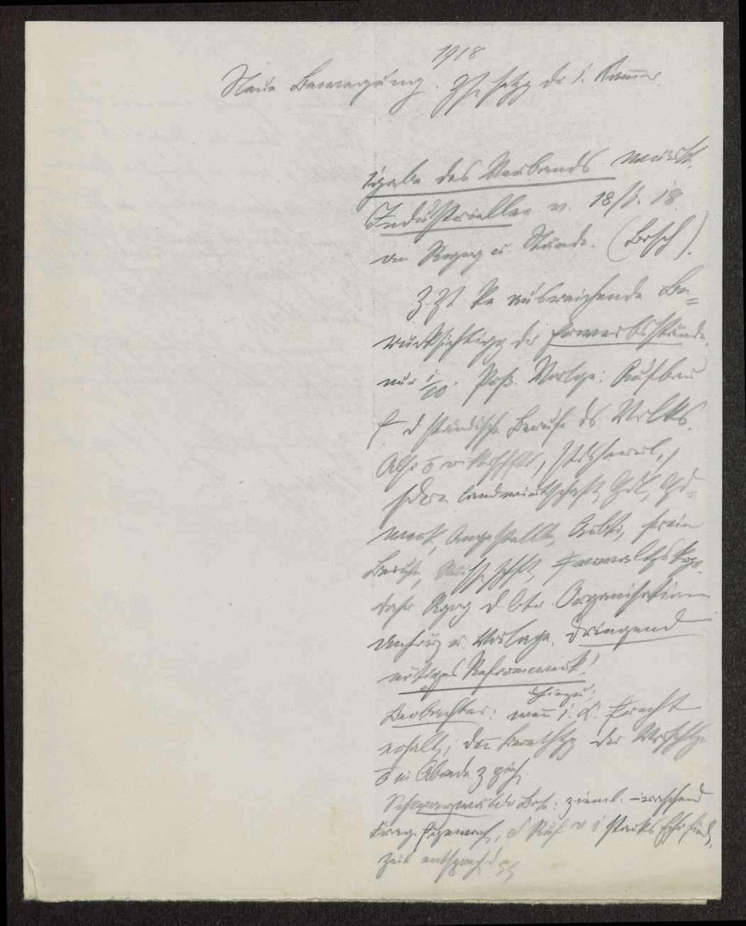 Verfassungsreform: Umbildung der Ersten Kammer Notizen Weizsäcker, Druckschriften und Zeitungsartikel, Bild 3