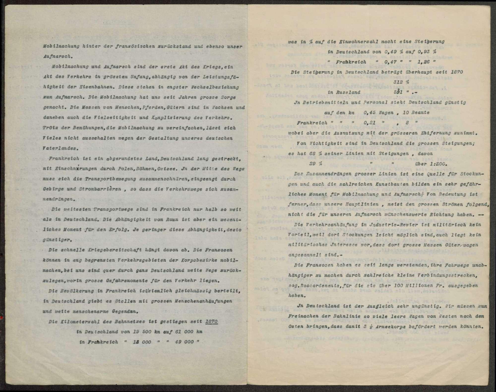 Berichte des württembergischen Militärbevollmächtigten in Berlin (v. Dorrer, v. Graevenitz) an Weizsäcker, Bild 3