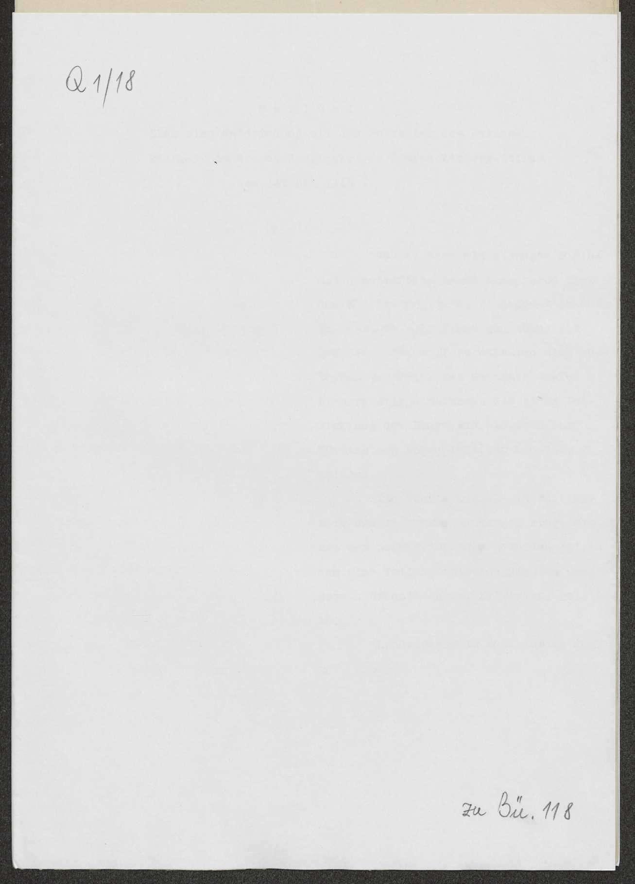 Berichte des württembergischen Militärbevollmächtigten beim Großen Hauptquartier, v. Graevenitz, an Weizsäcker über die militärische Lage u.a., Bild 1