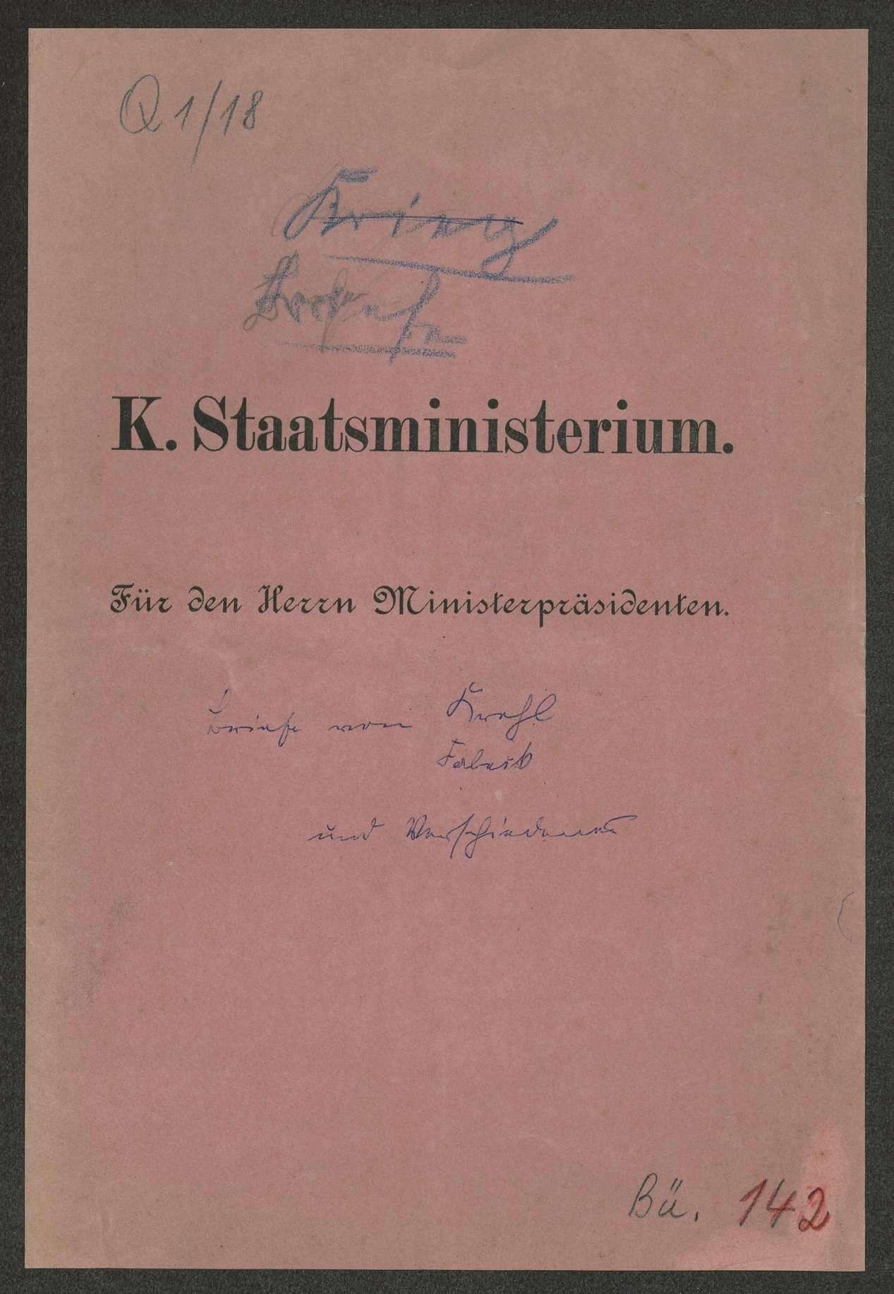 Schreiben und Telegramme an Weizsäcker in verschiedenen Angelegenheiten, Bild 1