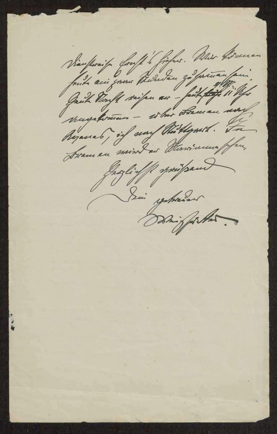 Schreiben Weizsäckers an Fritz von Graevenitz politischen, militärischen und privaten Inhalts, Bild 3