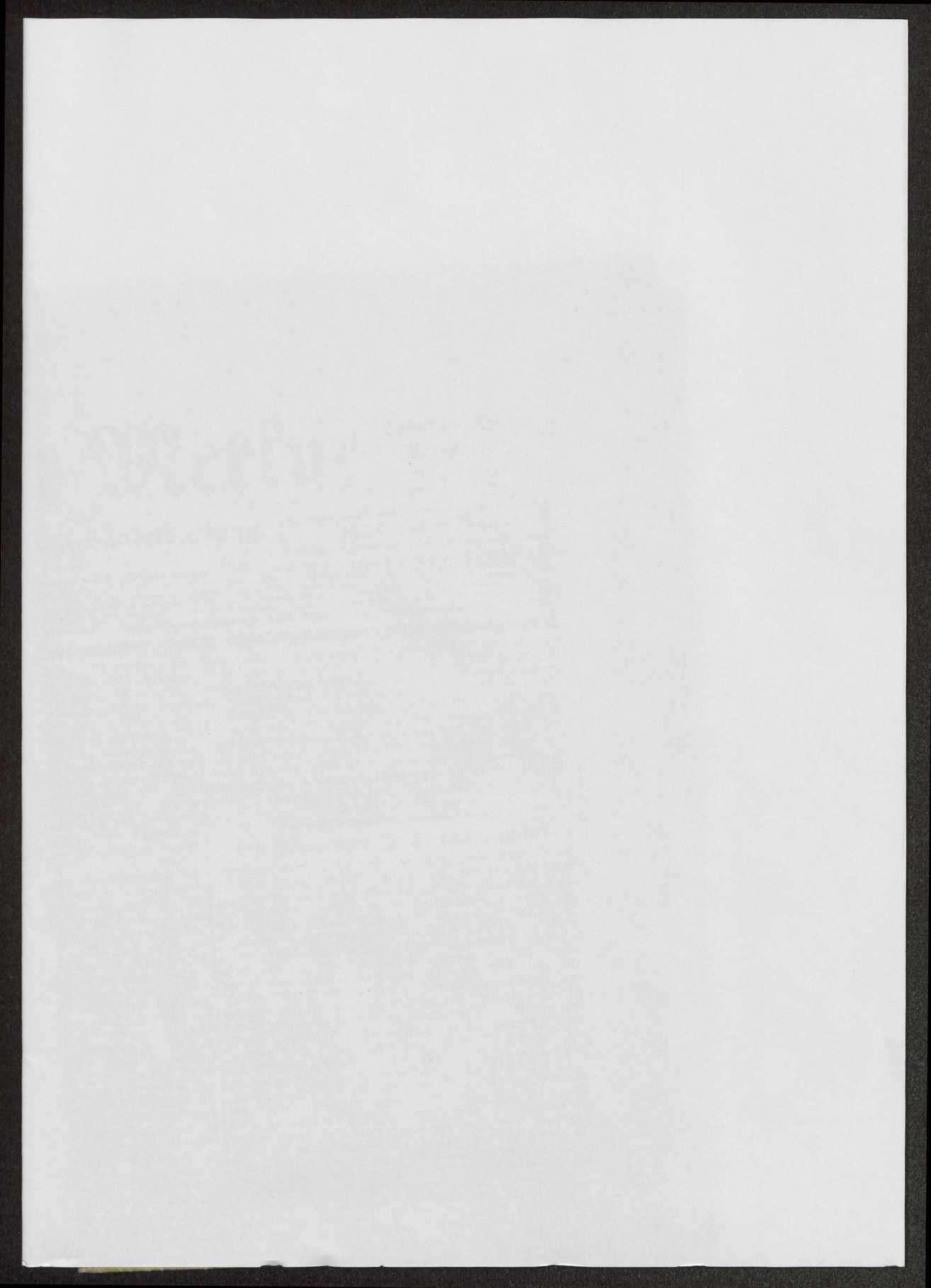Veröffentlichungen von Weizsäcker. Schreiben, Druckschriften, Zeitungsausschnitte, Bild 1
