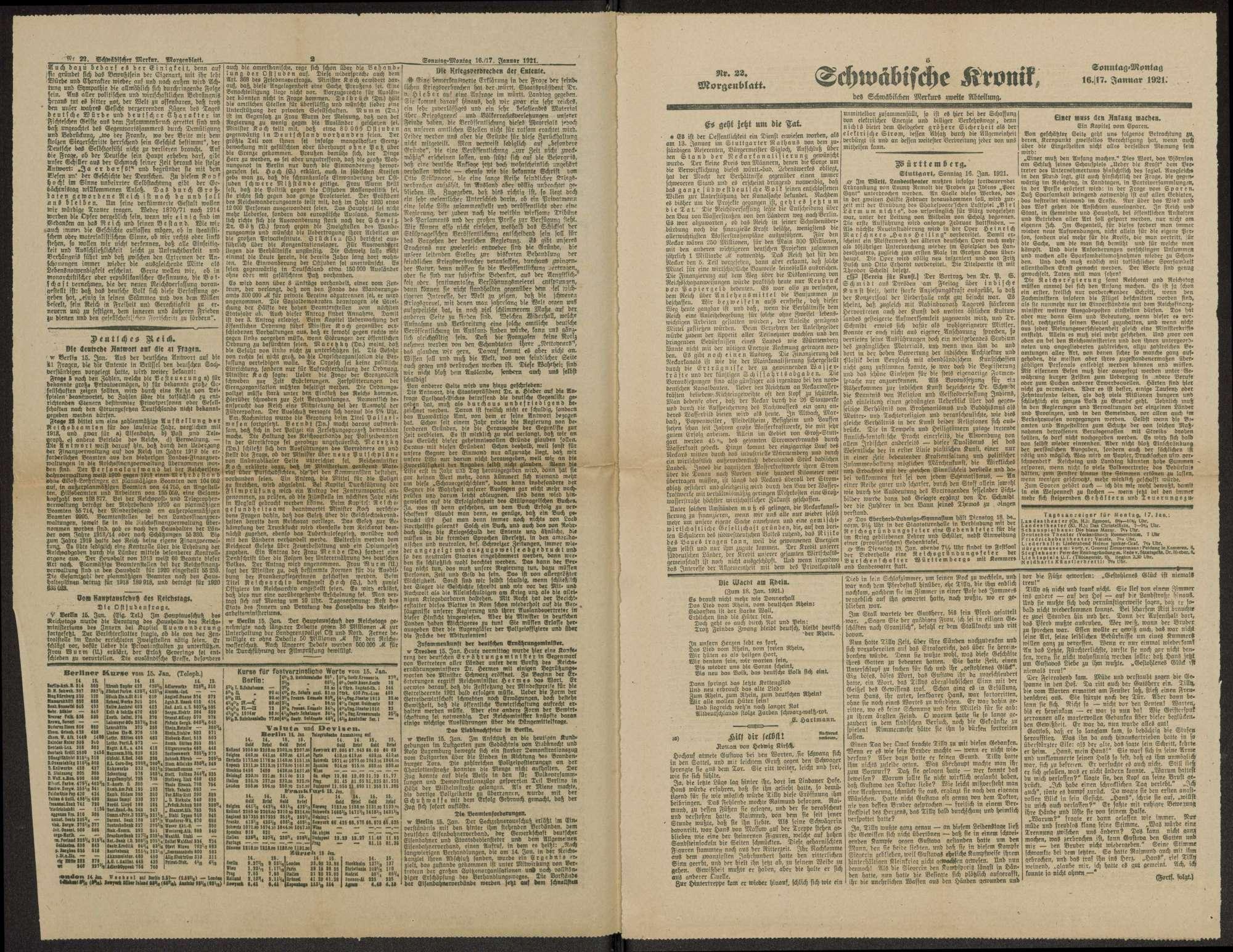 Veröffentlichungen von Weizsäcker. Schreiben, Druckschriften, Zeitungsausschnitte, Bild 3