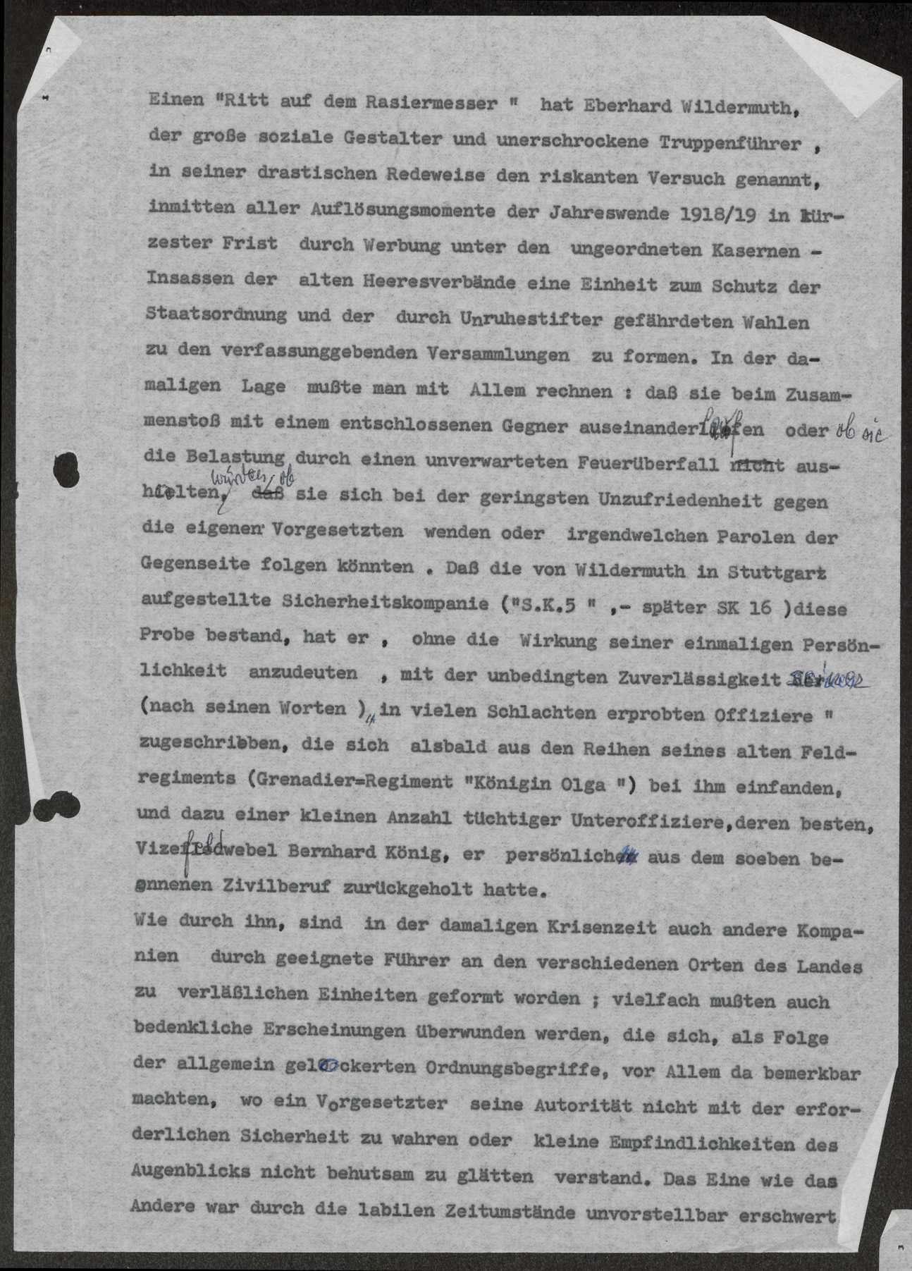 Bericht über die Revolution im November 1918 in Stuttgart, Bild 3