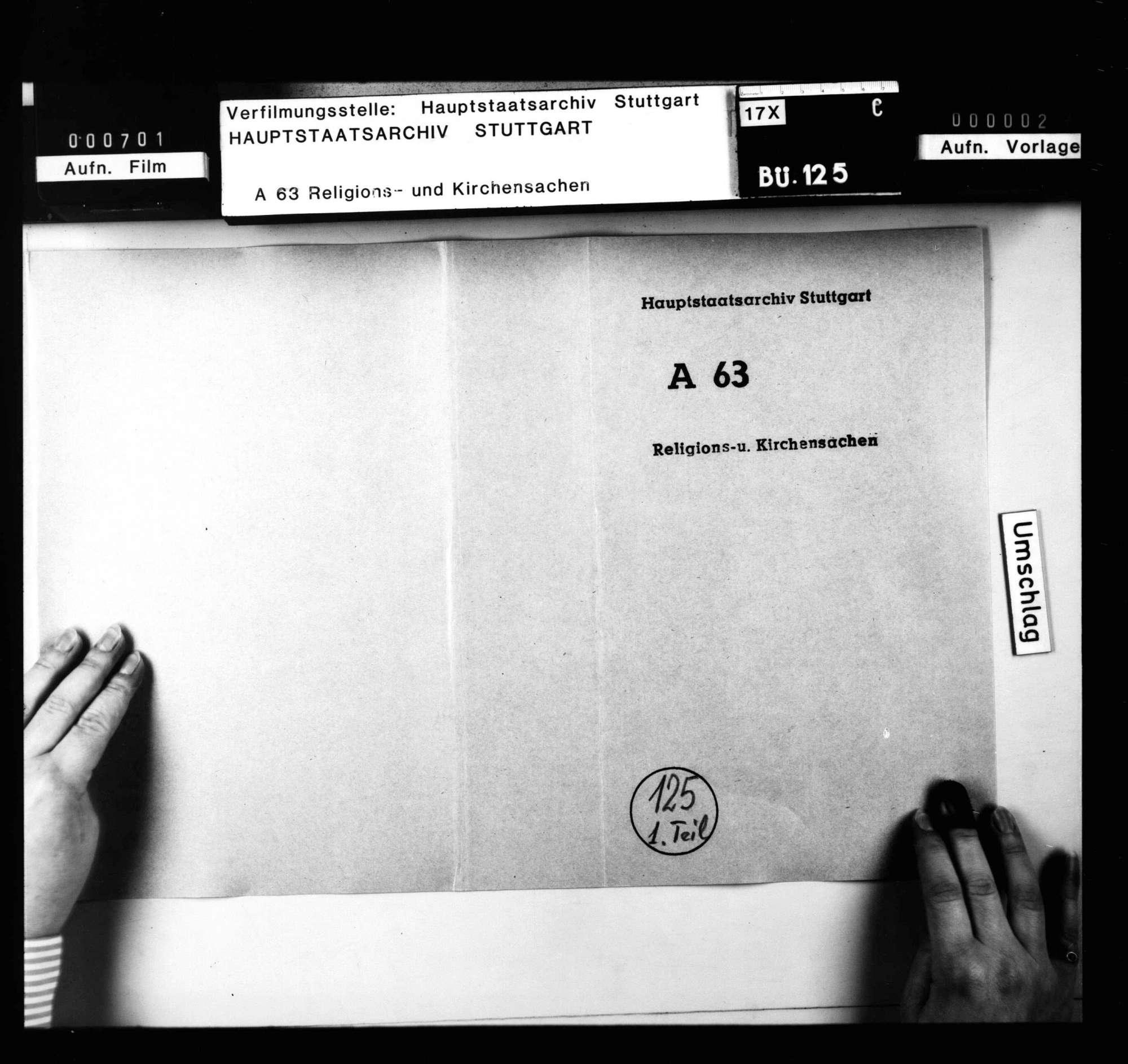 Religionsreversalien Karl Alexanders, mit Akten über den Vormundschaftsstreit., Bild 2
