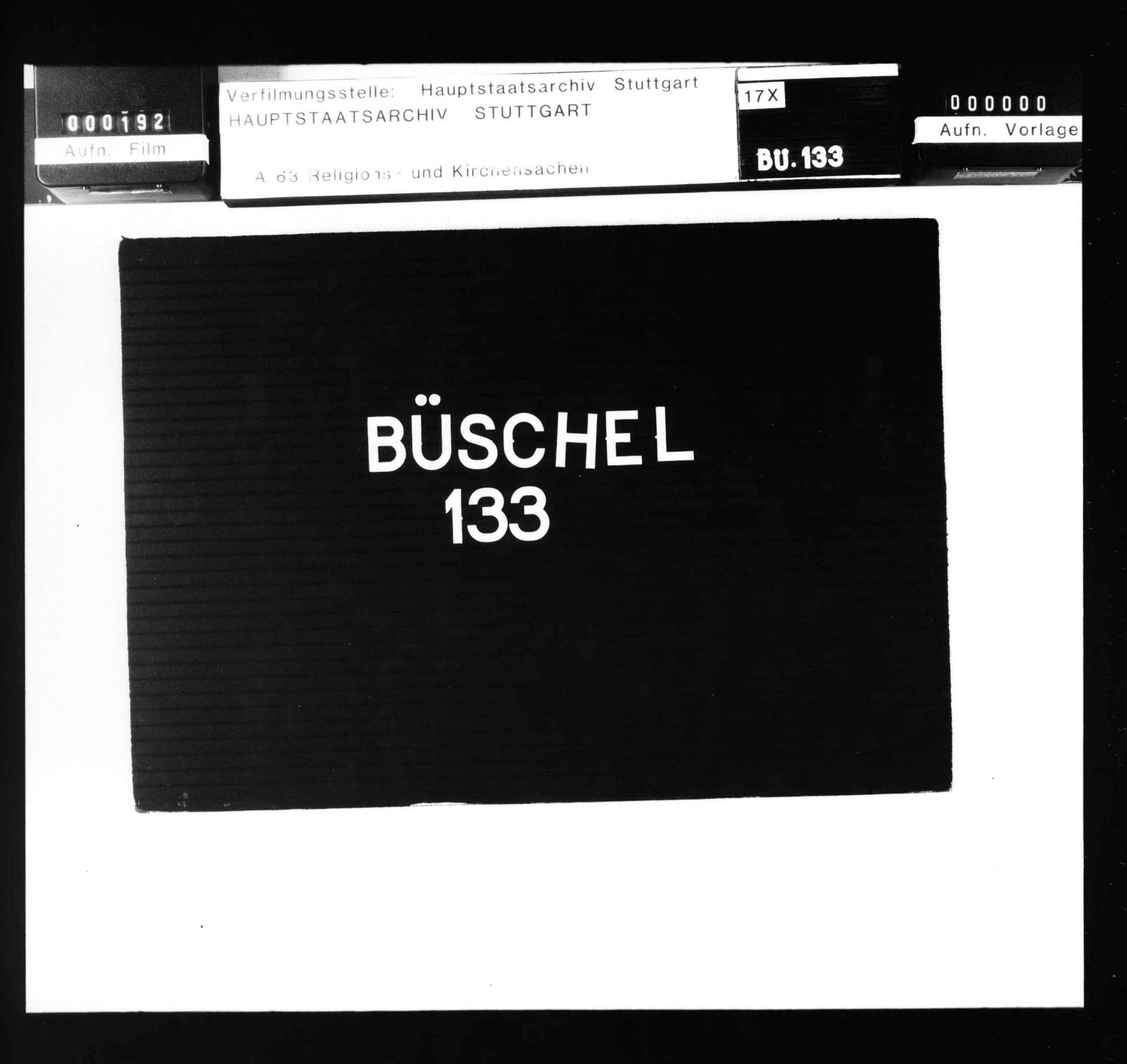 Organisation der oberrheinischen Kirchenprovinz und Errichtung des Landesbistums Rottenburg., Bild 1