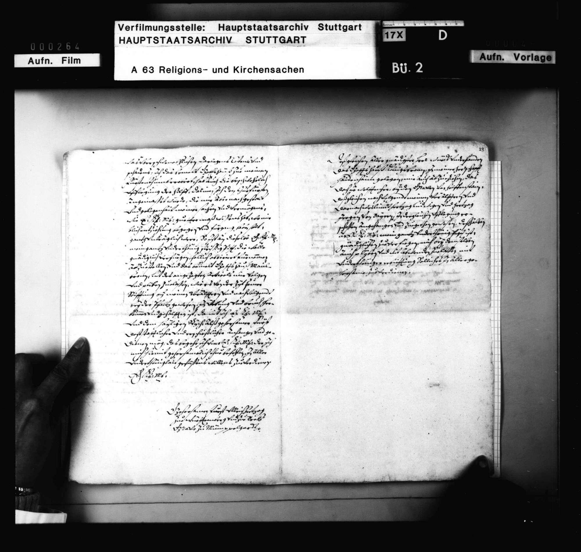 Schreiben Herzog Ulrichs an Kaiser Karl V. wegen der Besteuerung der Klöster Maulbronn und Königsbronn mit Reichshilfe wegen des Venezianischen Kriegs., Bild 3