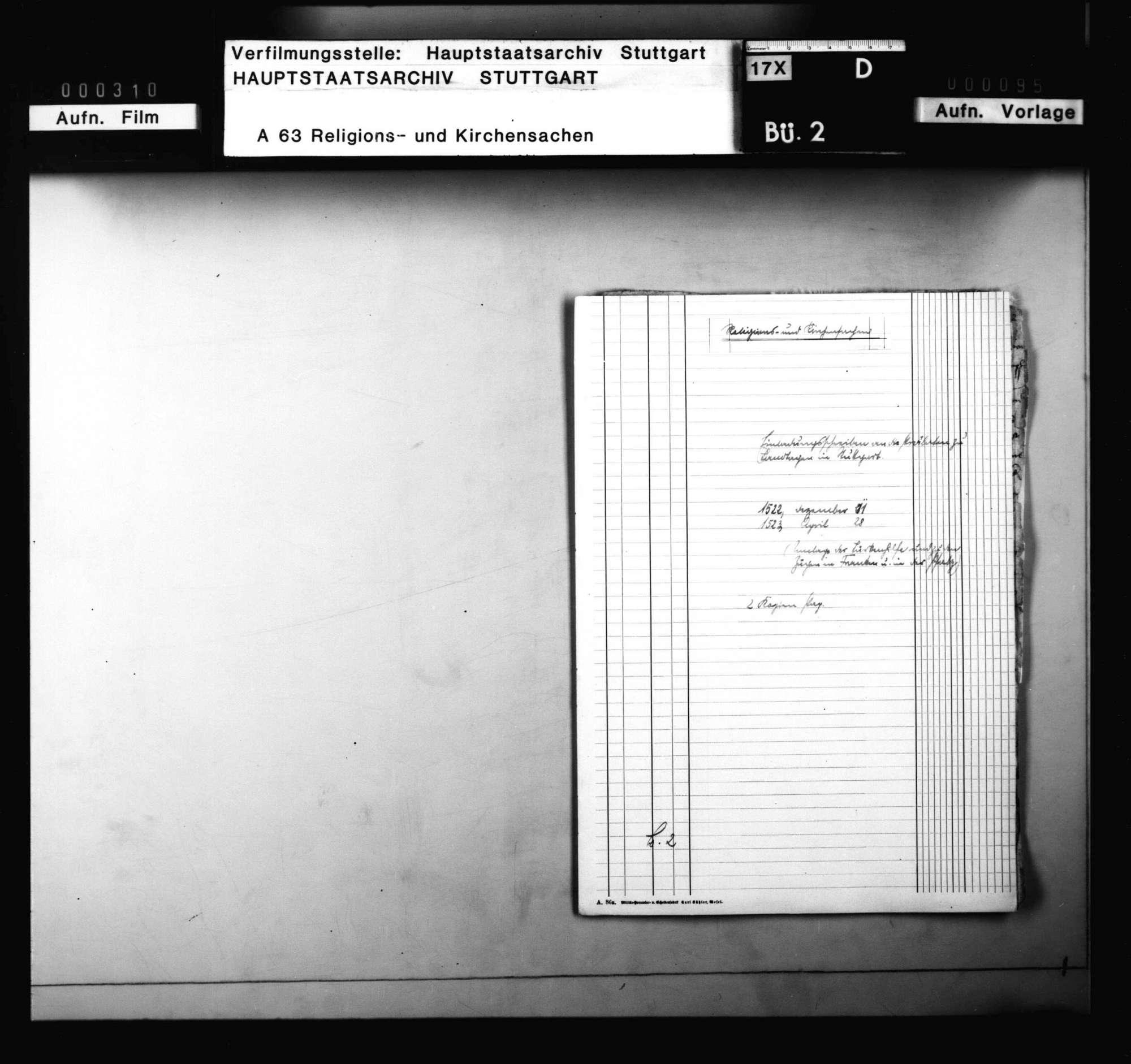 Einladungsschreiben an die Prälaten zu Landtagen in Stuttgart, die Umlage wegen der Türkenhilfe und zu den Zügen in Franken und der Pfalz betreffend, Bild 1