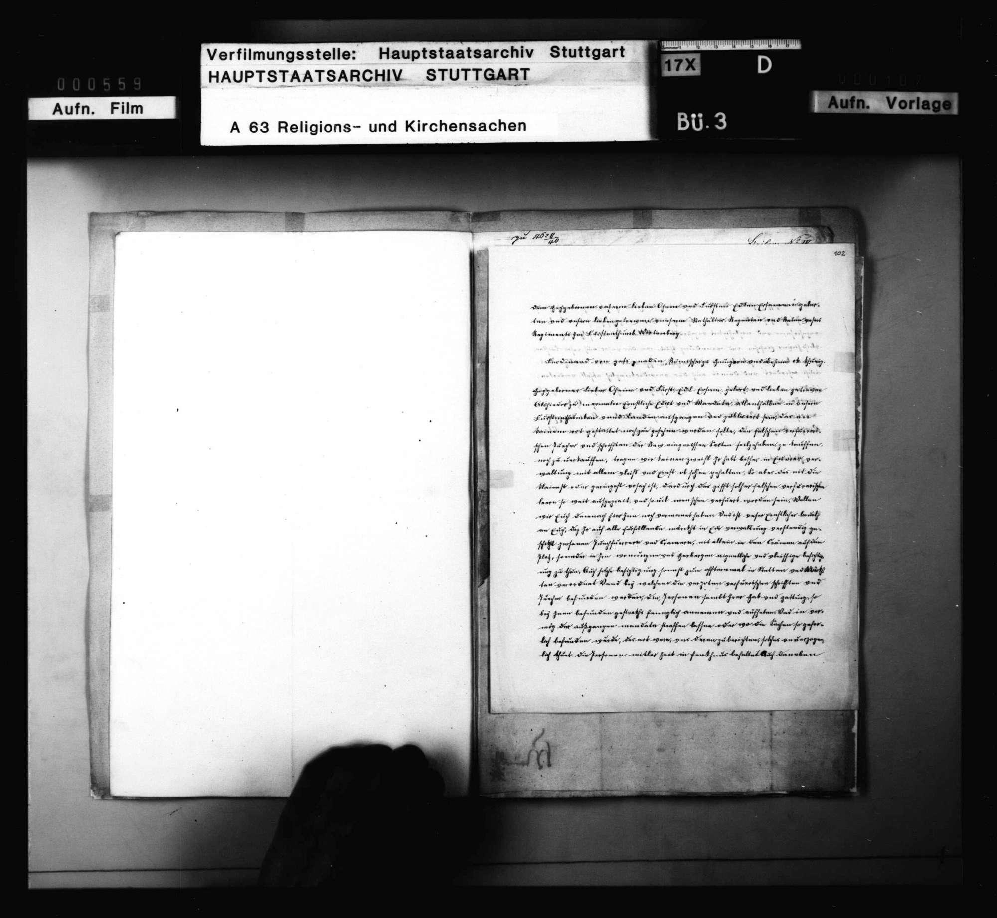 Kaiserliche Mandate gegen die Ausbreitung reformatorischer Einzelmaßnahmen, Bild 3