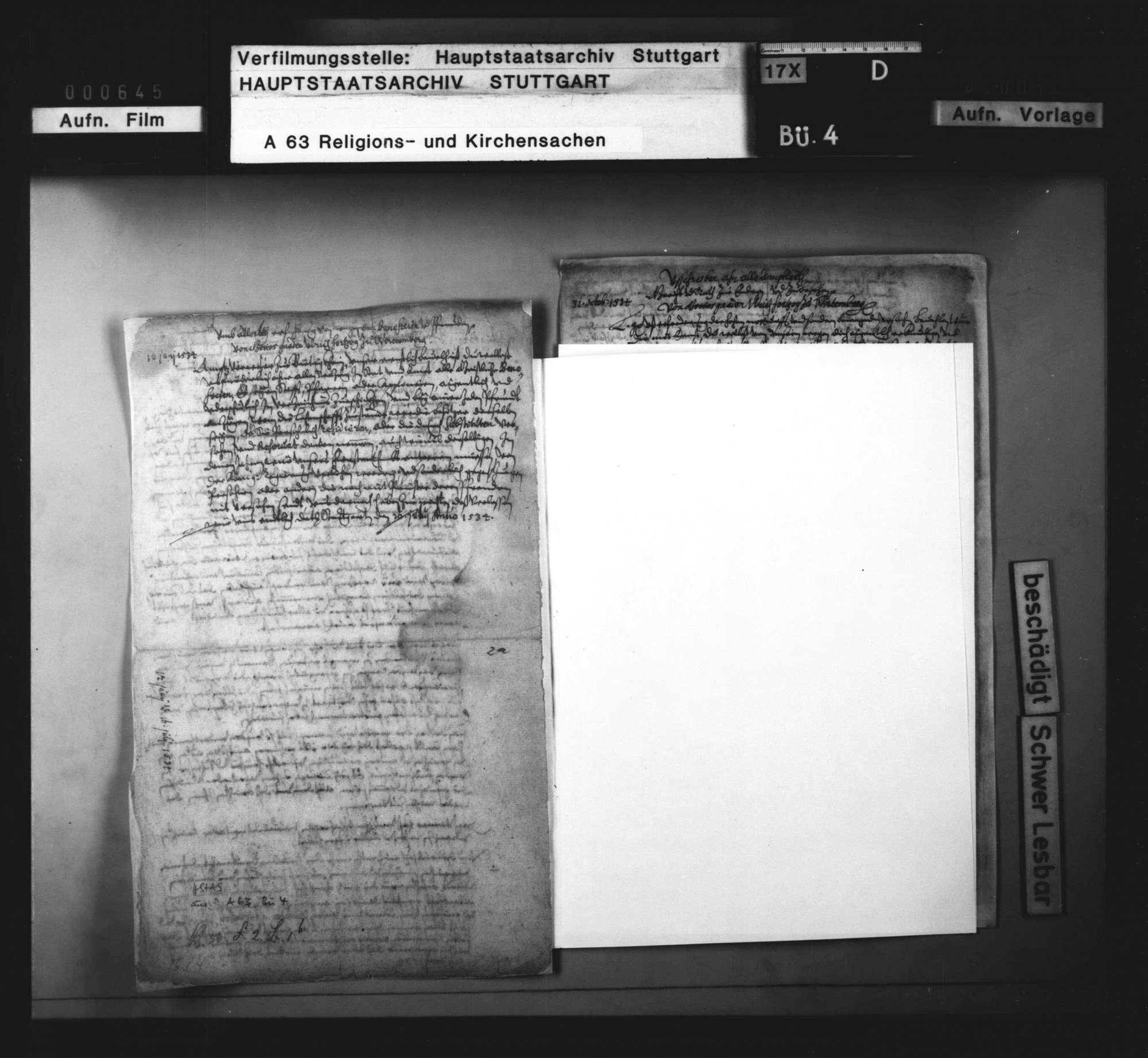 Landesweite (reformatorische) Regelungen Herzog Ulrichs zu Beginn seiner zweiten Regierungsperiode, Bild 3