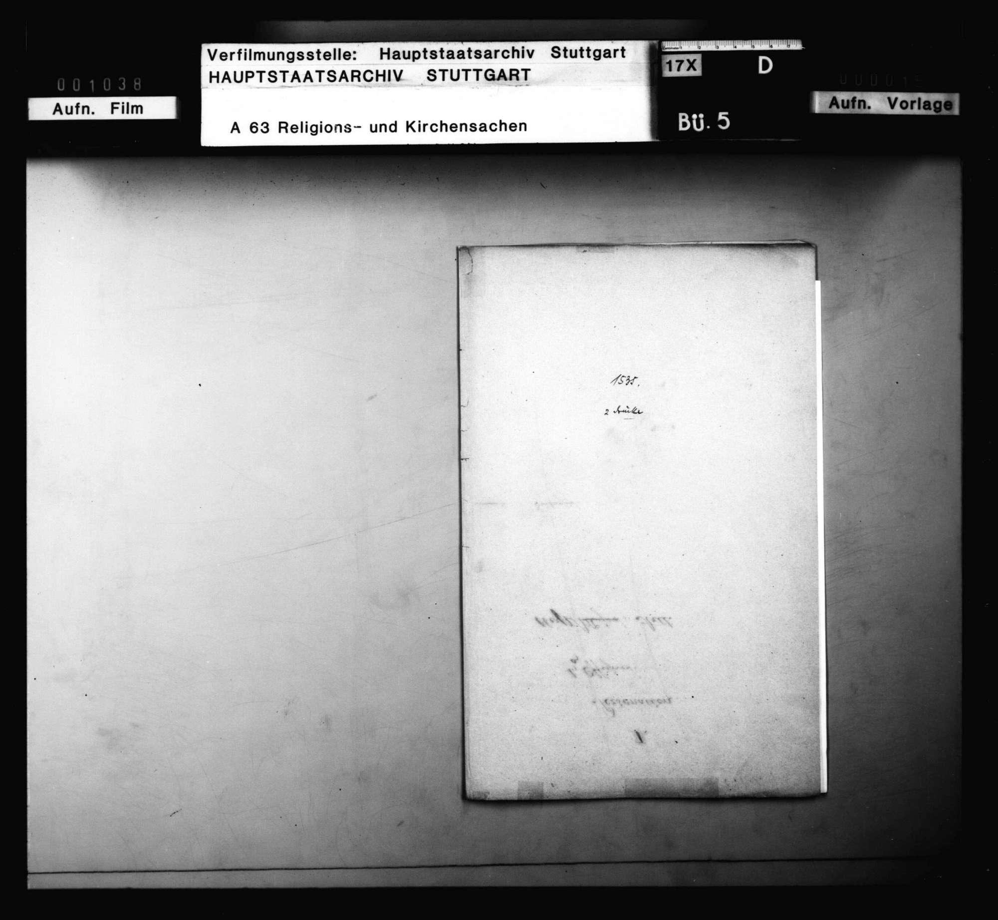 """Bericht Ambrosii Blarers von dem Widerruf, den er bei dem """"Artikul des Sakraments des Leibs und Bluts"""" getan soll haben., Bild 1"""