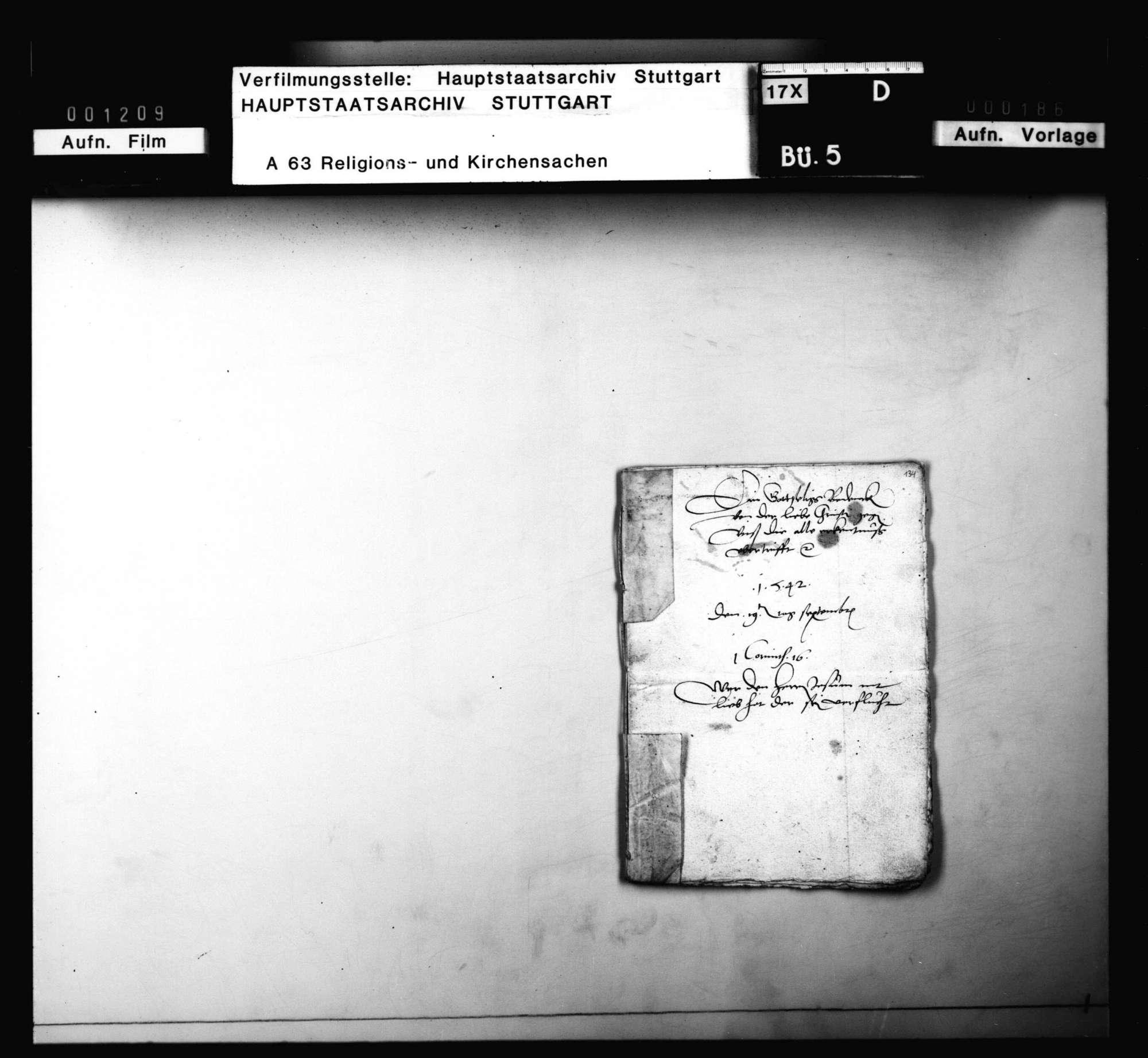 Schreiben und Lieder von Schwenkfeldern, meist aus Cannstatt und Mühlhausen, besonders Andreas Neff zuzuordnen, Bild 1
