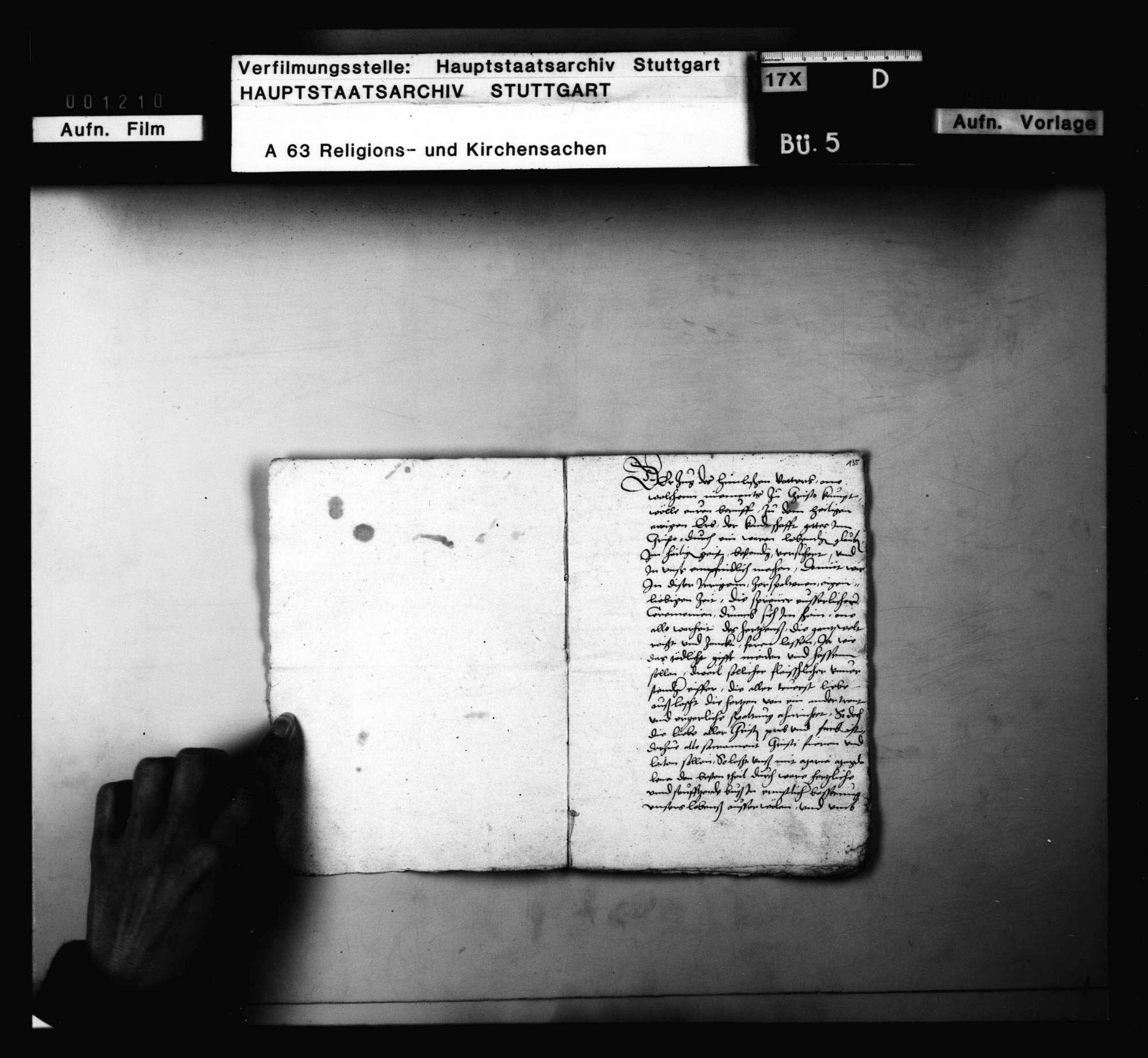 Schreiben und Lieder von Schwenkfeldern, meist aus Cannstatt und Mühlhausen, besonders Andreas Neff zuzuordnen, Bild 2