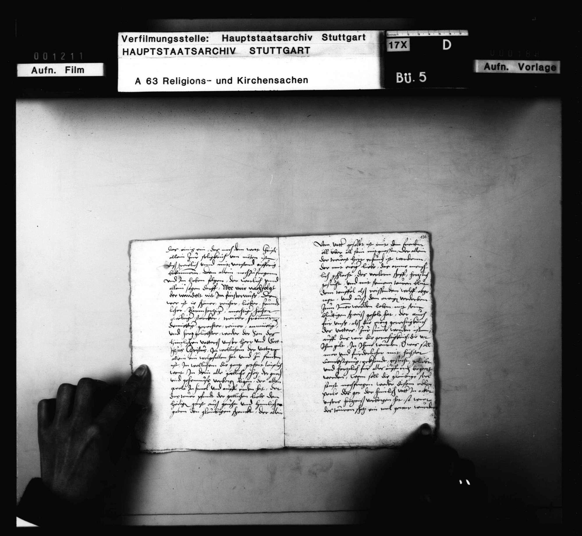 Schreiben und Lieder von Schwenkfeldern, meist aus Cannstatt und Mühlhausen, besonders Andreas Neff zuzuordnen, Bild 3