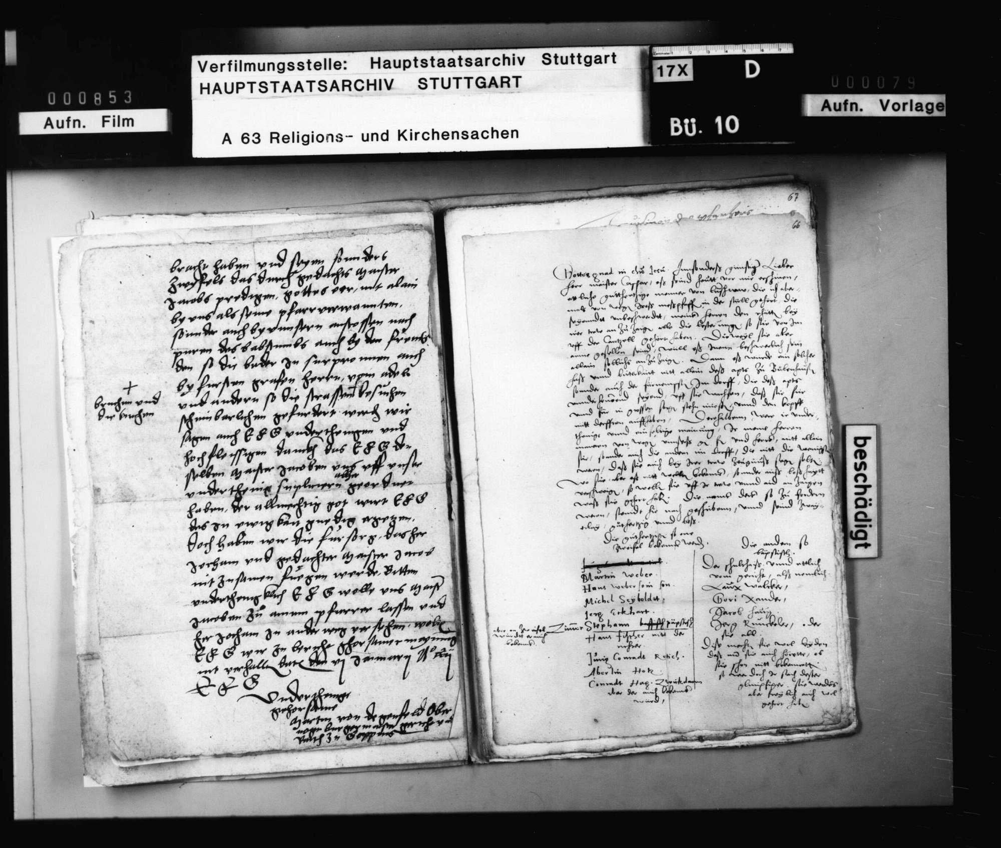 Schreiben aus Göppingen, betreffend die amtliche Tätigkeit des Magisters Jakob Schmidlin (Andreä)., Bild 2