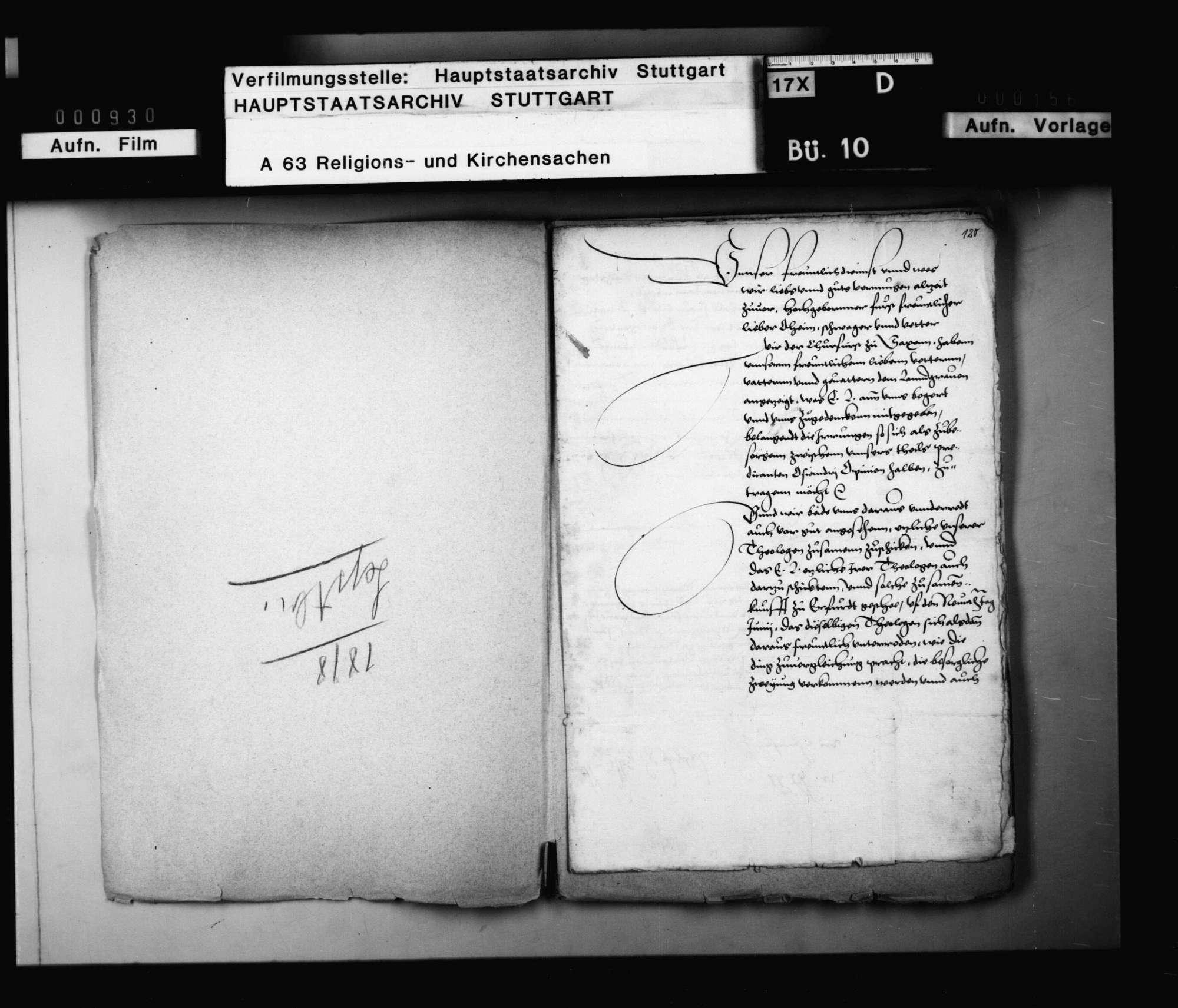 Kurfürst Moriz von Sachsen und Landgraf Philipp von Hessen ersuchen Herzog Christoph von Württemberg, seine Theologen auf den 9. Juni zu einem Konvent nach Erfurt zu senden zu Vergleichung der Osianderschen Zweiung und Beratschlagung, wie die Religion auf künftigem Reichstag zu vertreten sein möchte, welcher Tag aber kein Fortgang gehabt. Vergleich der Osiander