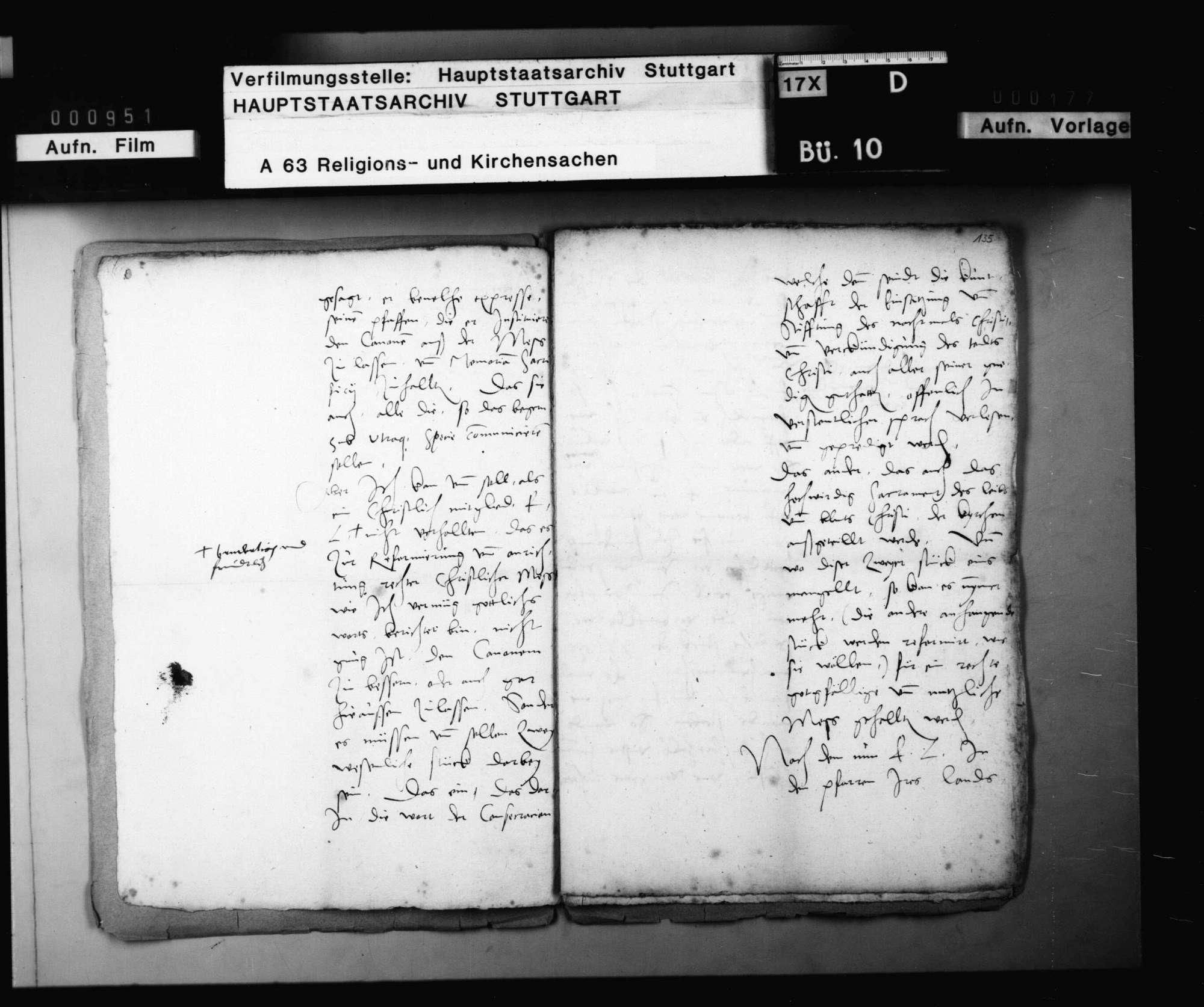 Missiv des Kurfürsten Friedrich von der Pfalz an Herzog Christoph., Bild 3