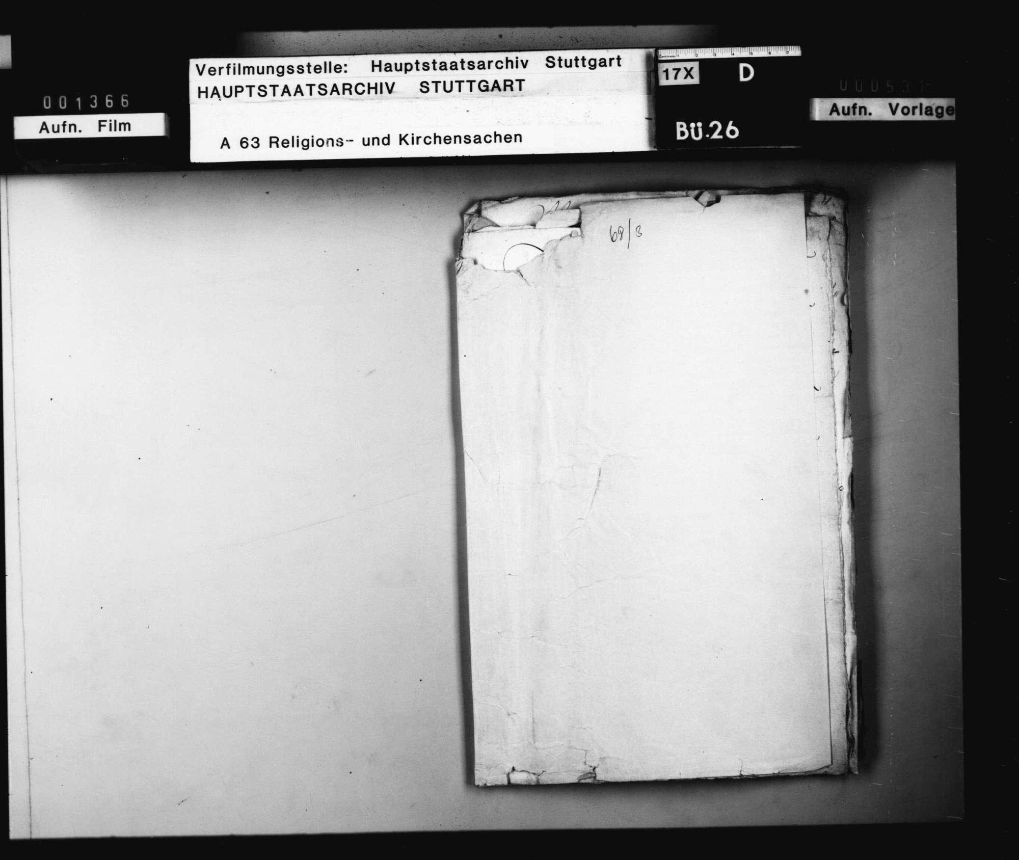 Die Übersendung der zu Tübingen auf Melanchthon gehaltenen oratio funebris nach Wittenberg., Bild 1