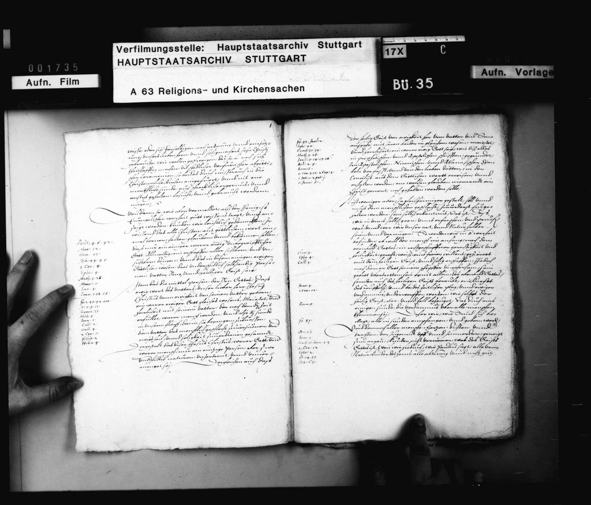 """Akten, betreffend das erneute Verfahren gegen den des """"Zwinglianimus"""" verdächtigen Pfarrer Hagen., Bild 3"""