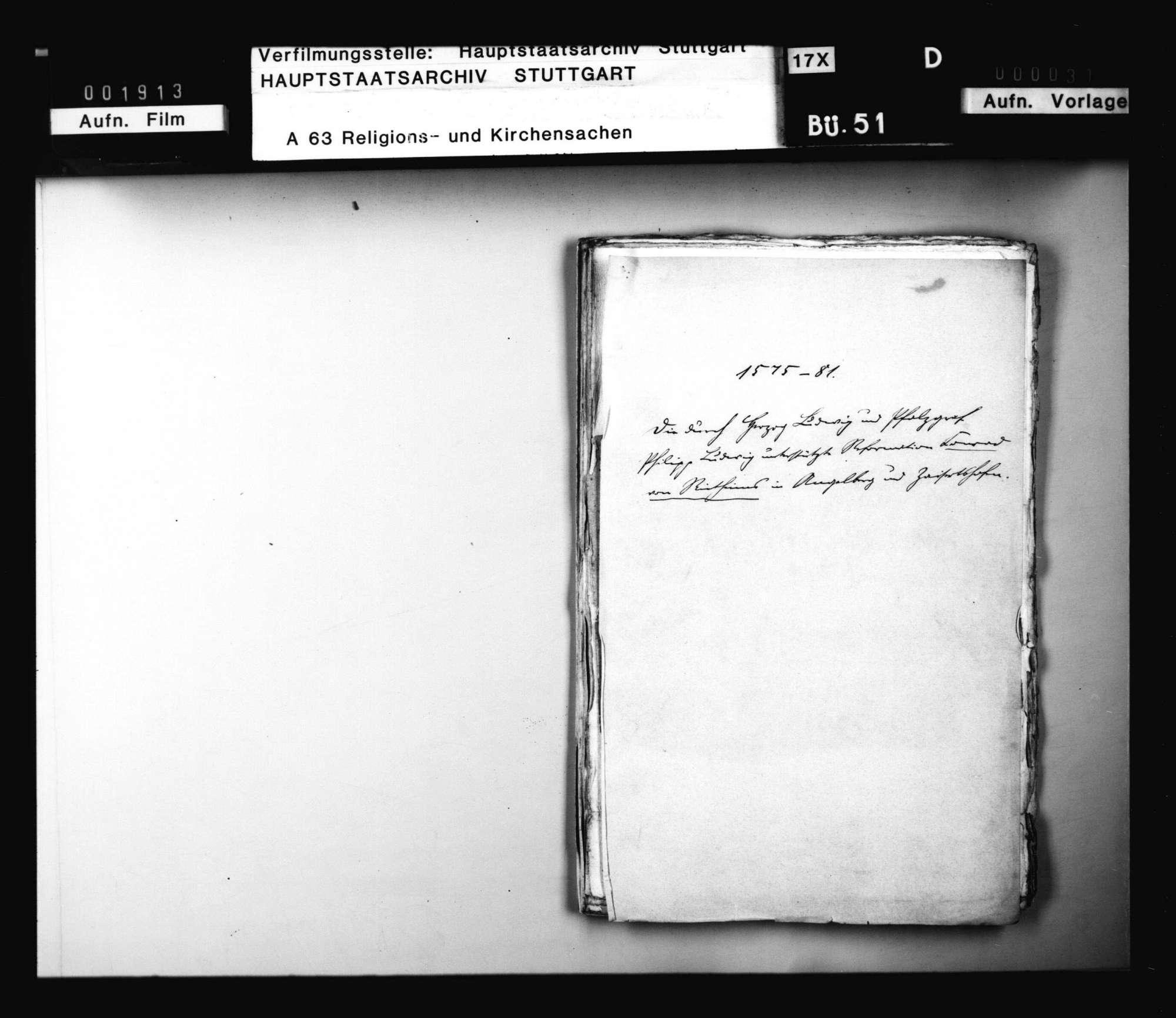 Schriften, betreffend die Unterstützung der Reformation des Conrad von Rietheim in Angelberg und Zaisertshofen durch Herzog Ludwig und Pfalzgraf Philipp Ludwig, Bild 2
