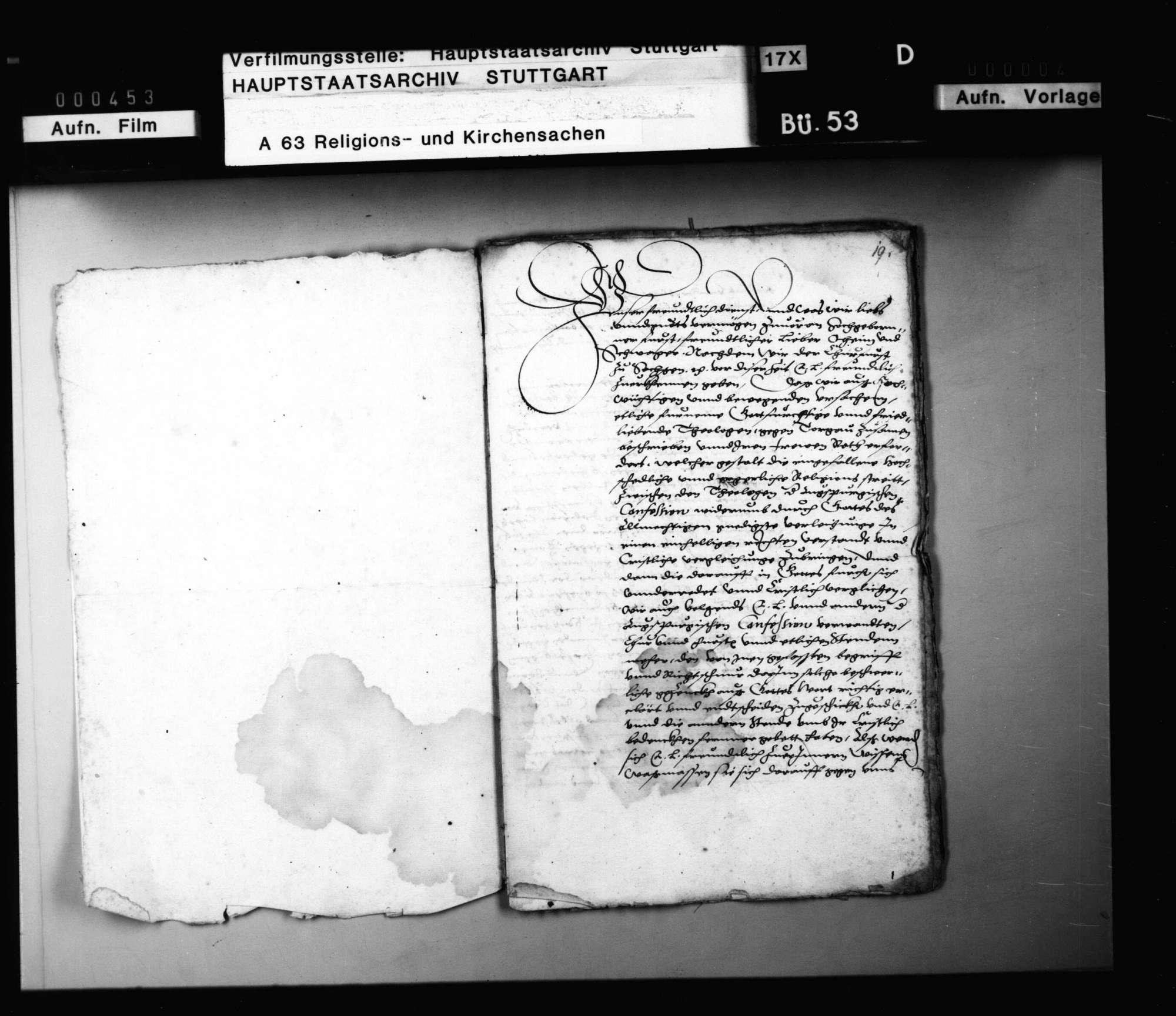 Auf Bitten von Kursachsen und Brandenburg soll Herzog Ludwig erreichen, dass die württembergischen Theologen und die schwäbischen Reichsstände die Concordienformel unterschreiben., Bild 2