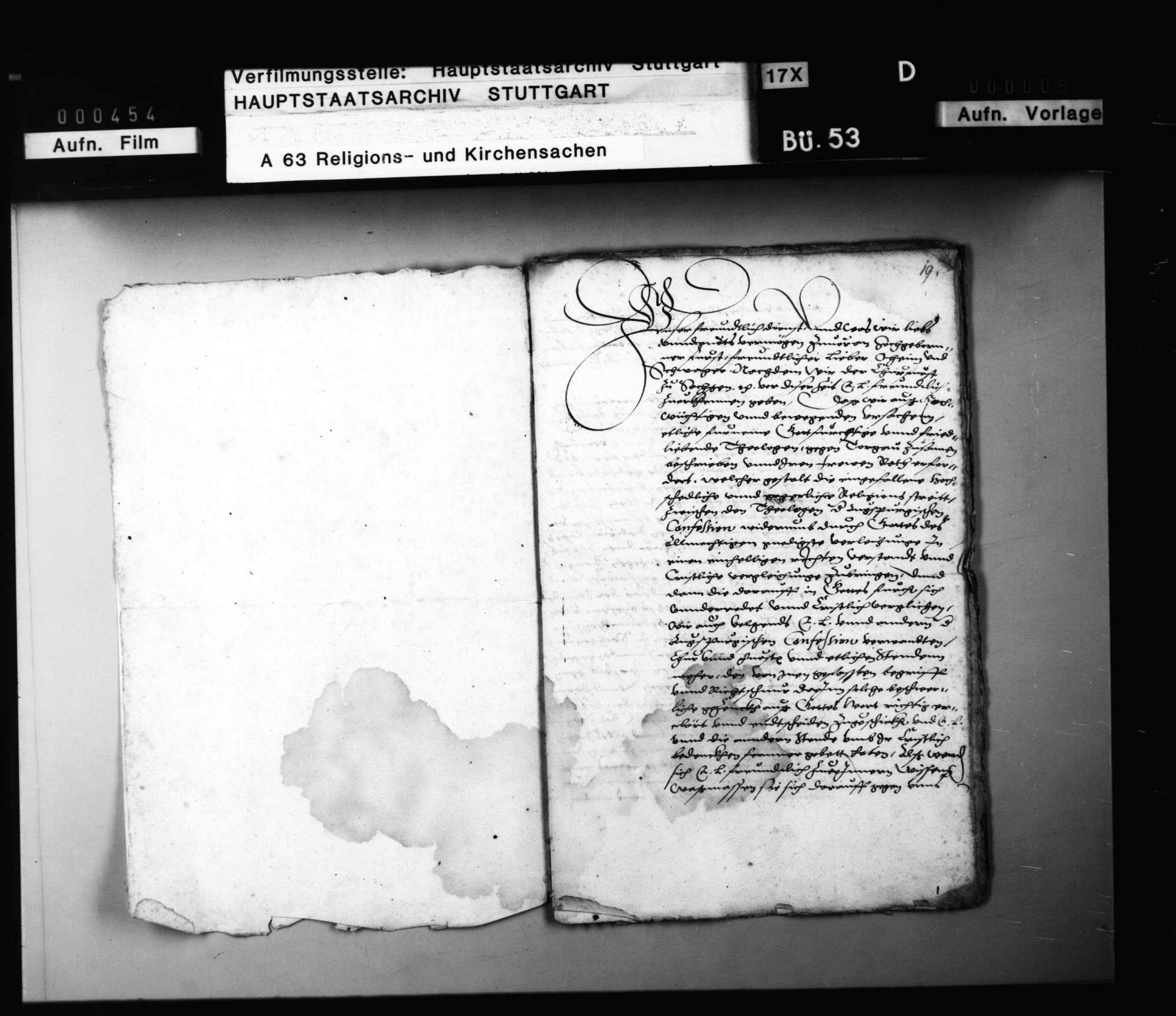 Auf Bitten von Kursachsen und Brandenburg soll Herzog Ludwig erreichen, dass die württembergischen Theologen und die schwäbischen Reichsstände die Concordienformel unterschreiben., Bild 3