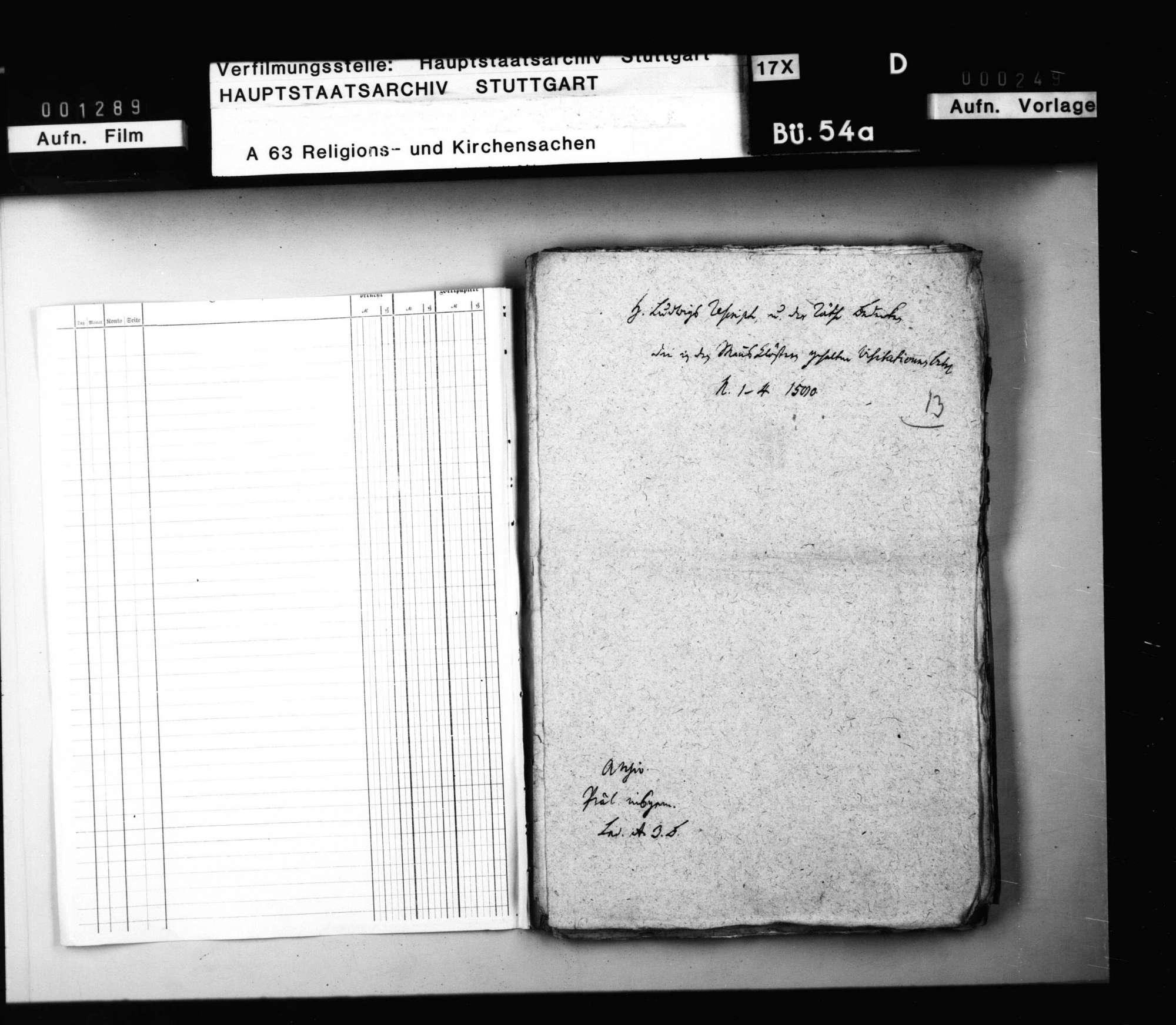 Herzog Ludwigs Reskripte und der Räte Bedenken über die in Mannsklöstern gehaltenen Visitationen., Bild 2