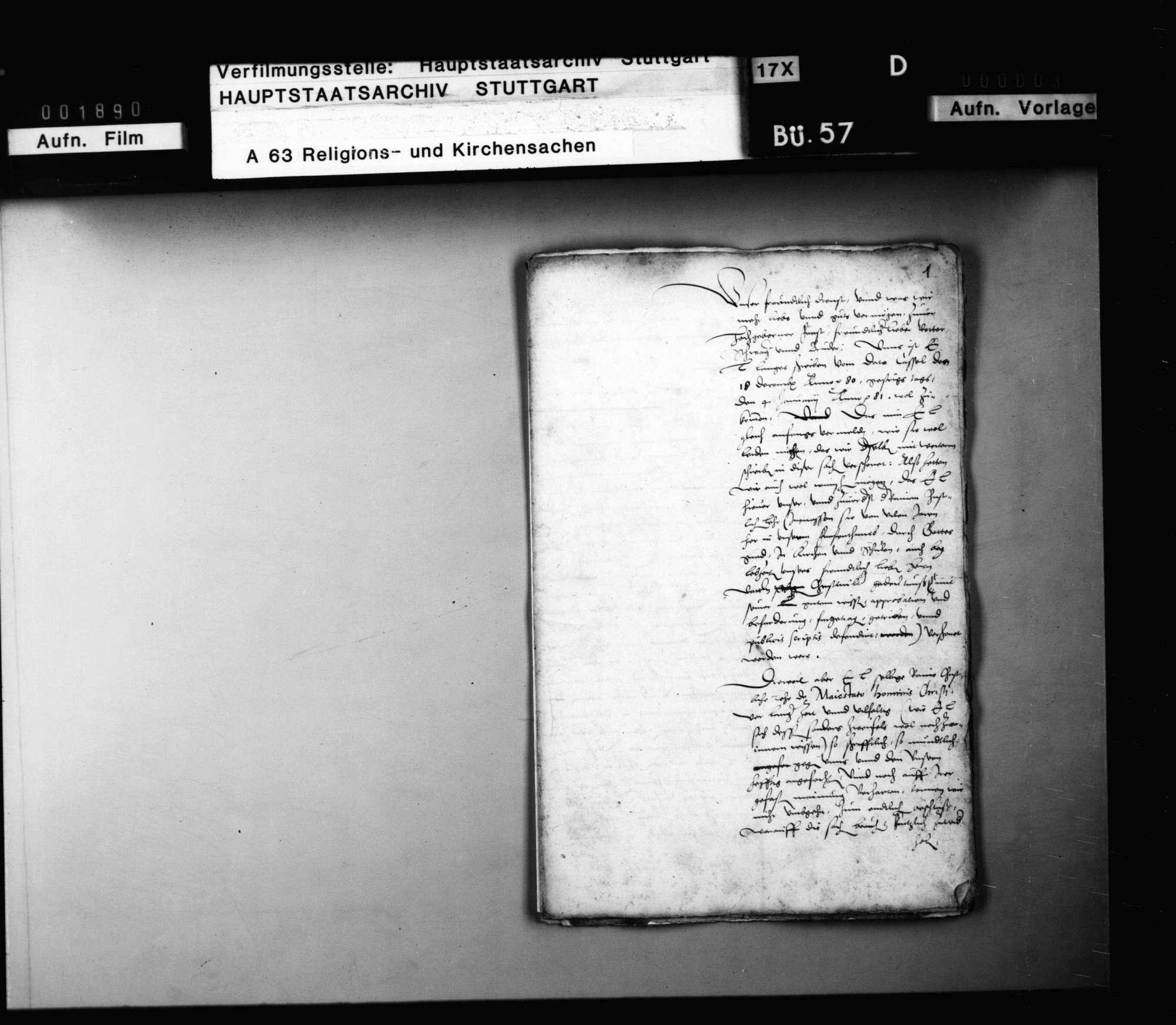 Schriften, betreffend Hessen-Kassels Stellung gegen die Concordienformel., Bild 2