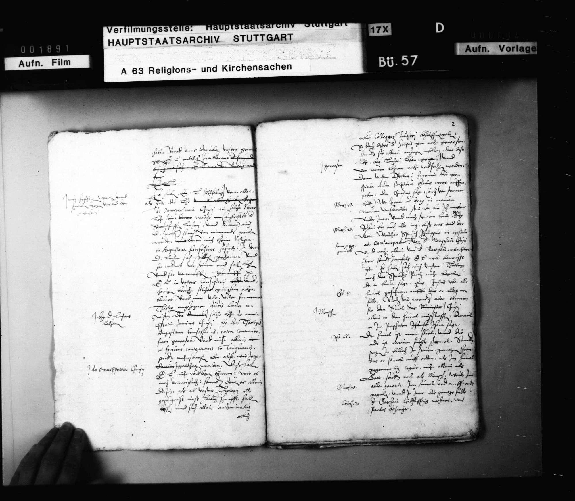 Schriften, betreffend Hessen-Kassels Stellung gegen die Concordienformel., Bild 3