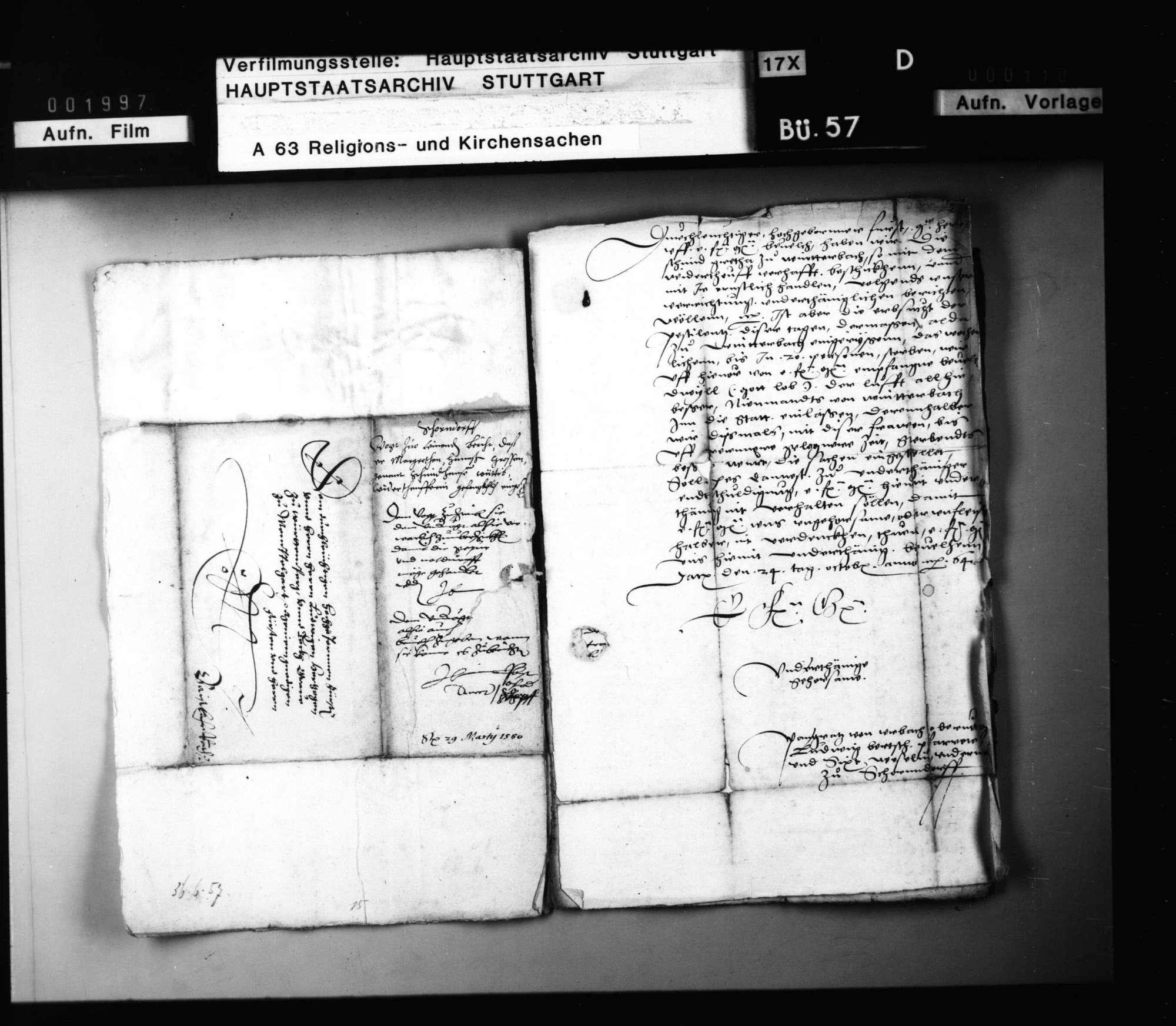 Schriften, die Prozessierung einer Winterbacher Wiedertäuferin betreffend., Bild 3
