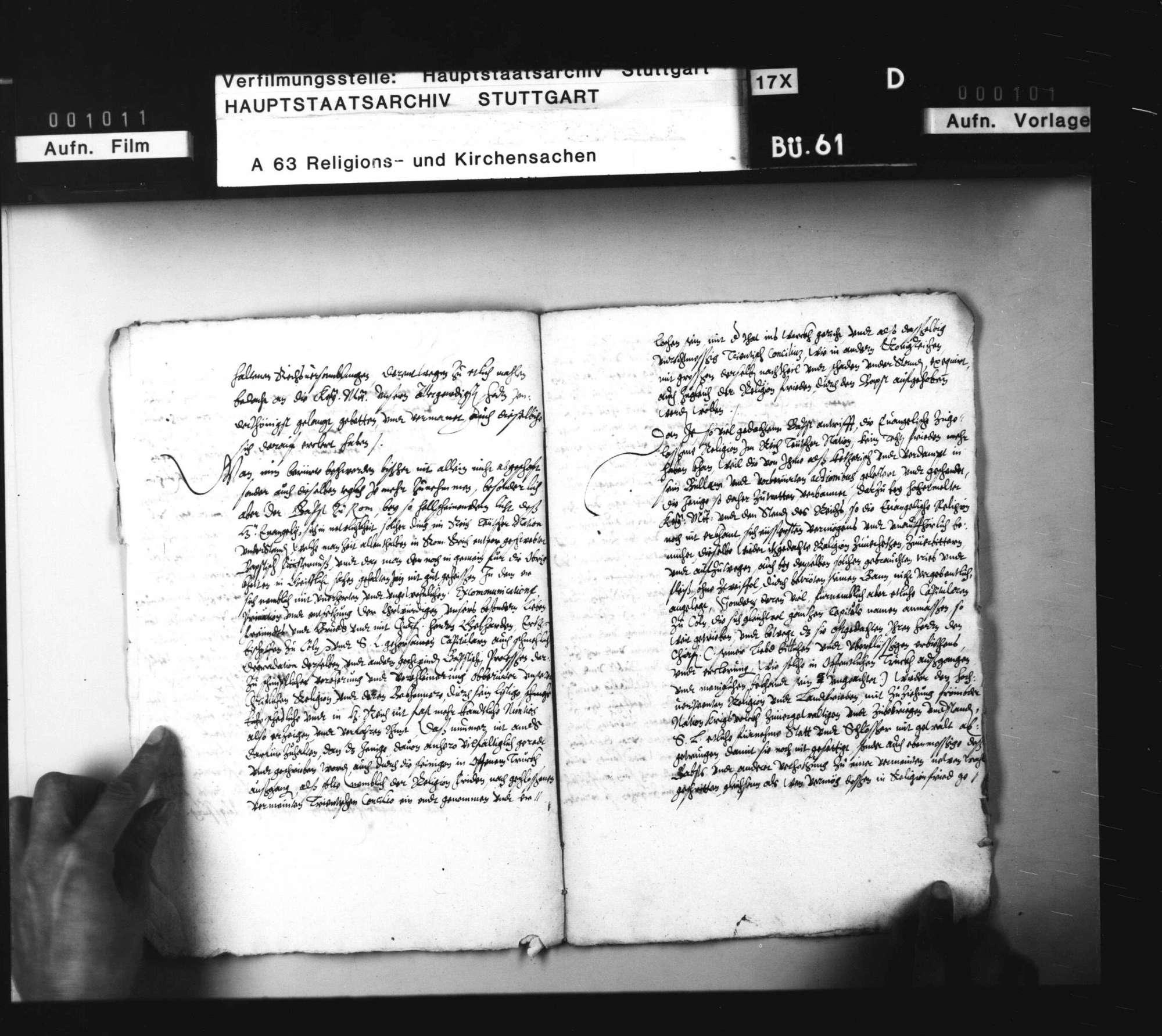 Pfalzgraf Ludwigs Einladung an die Stände Augsburger Konfession zu einem Konvent nach Mühlhausen. Abschrift, Bild 3