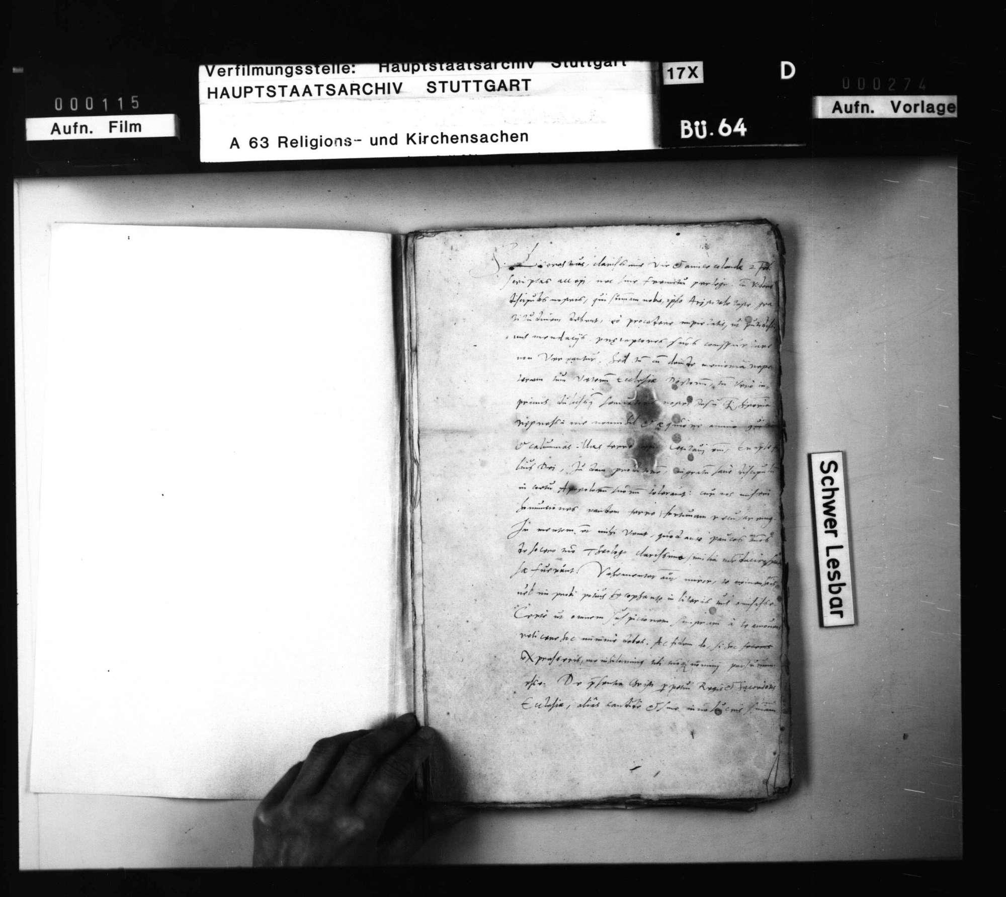 Schriften, des Chyträus in Rostock und seiner Freunde Beziehungen zu den württembergischen Theologen betreffend., Bild 2