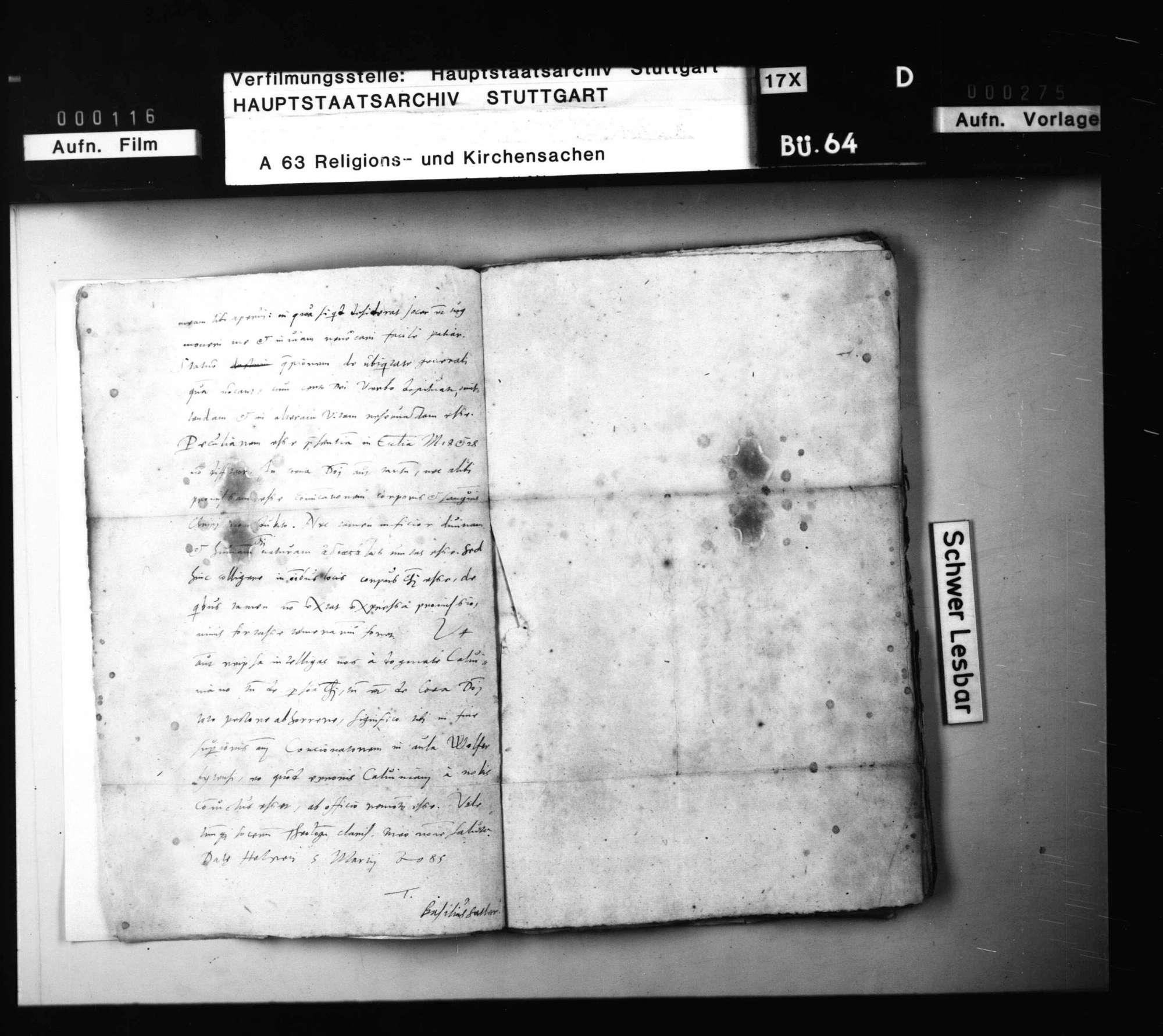 Schriften, des Chyträus in Rostock und seiner Freunde Beziehungen zu den württembergischen Theologen betreffend., Bild 3