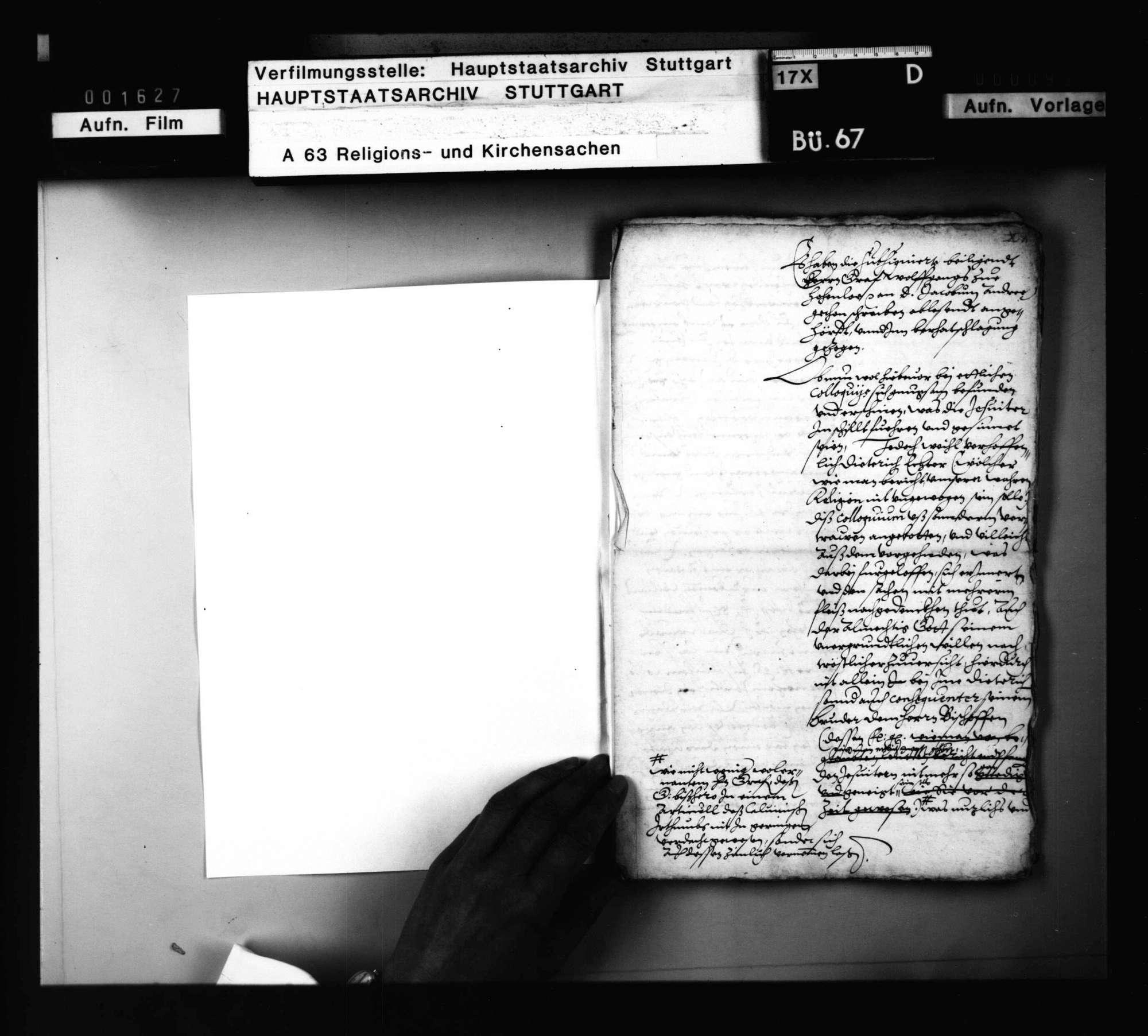 Schriften, betreffend das Colloquium, welches J. Andreä mit zwei Jesuiten vor Graf Wolf von Hohenlohe halten sollte, Bild 2