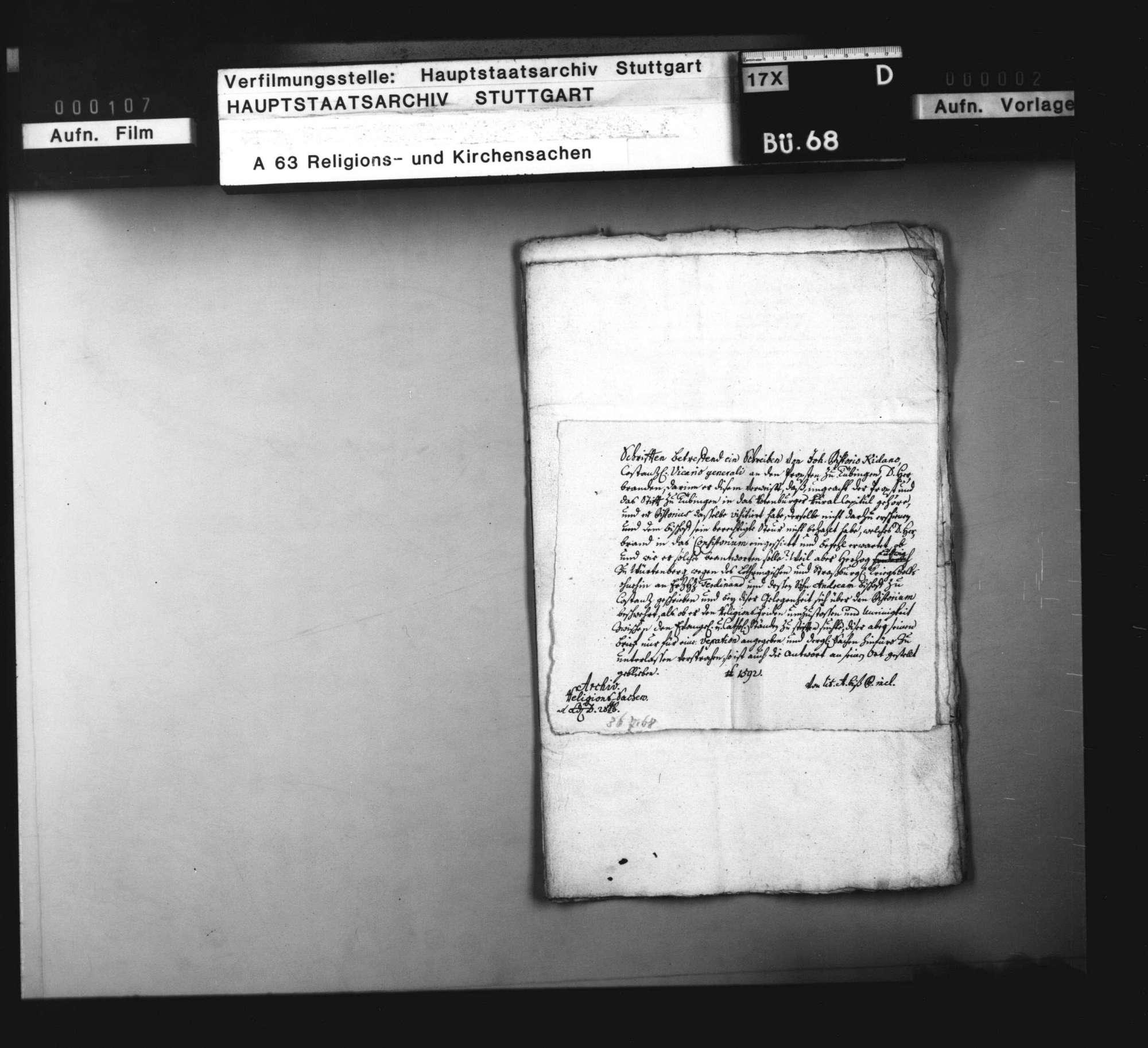 Versuche des Bistums Konstanz, Reste seines Einflusses auch nach der Reformation aufrecht zu erhalten., Bild 3