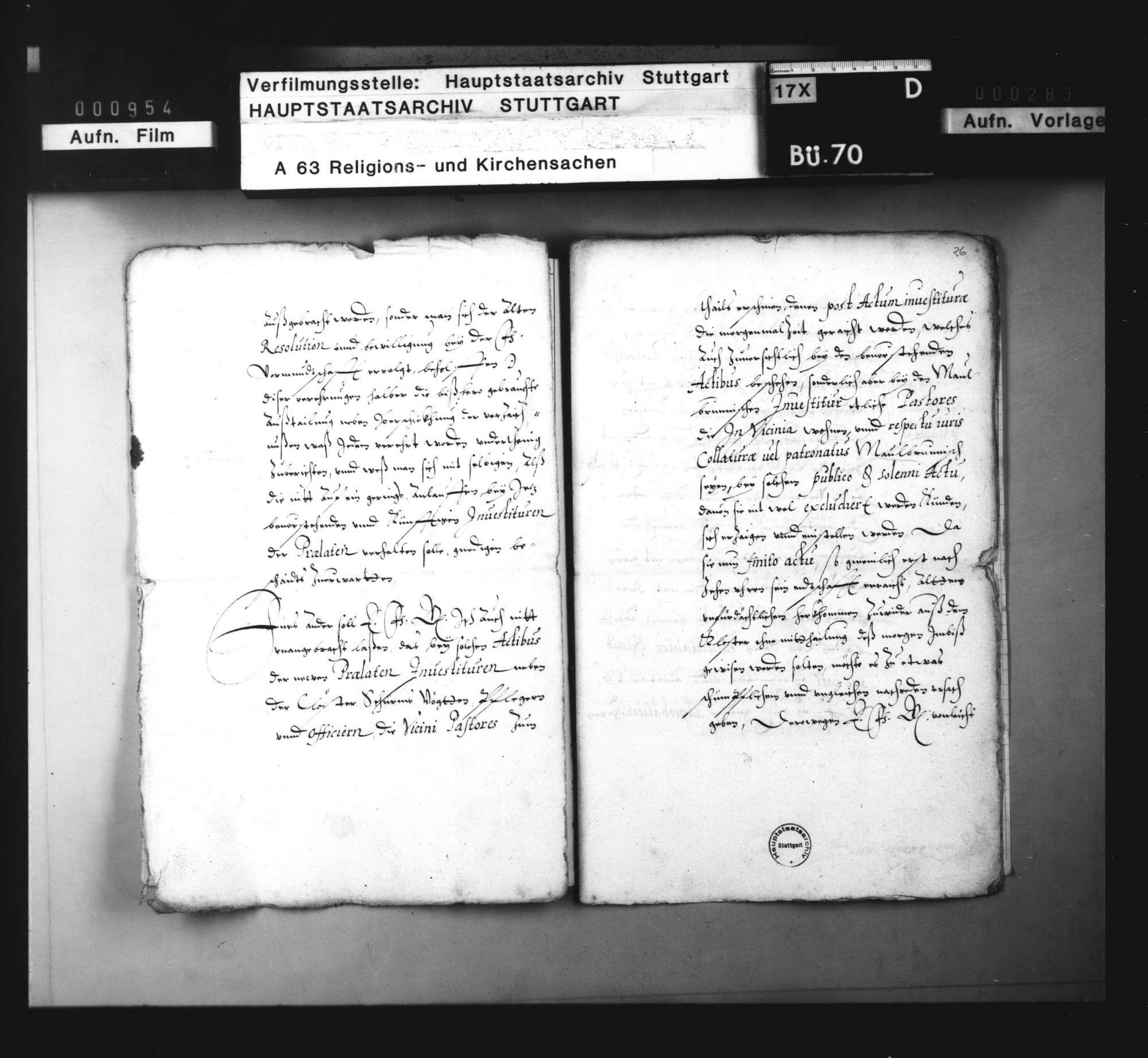 Bericht und Anbringen Balthasar Eisengreins über die Verehrungen, so bei den Investituren der neuen Prälaten ausgeteilt worden. Bietigheim, 14. Januar 1595., Bild 3