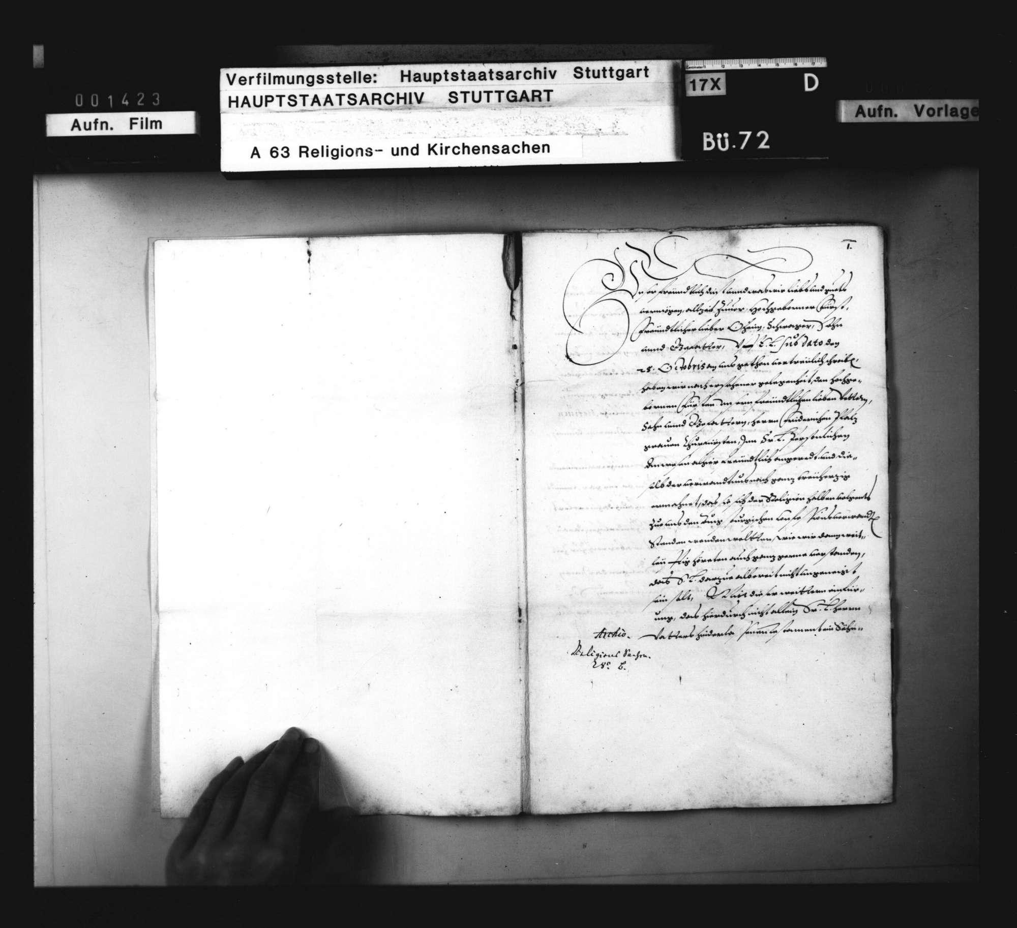 Pfalzgraf Friedrichs Religionsänderung und der Zustand der Religion in der Kurpfalz., Bild 2