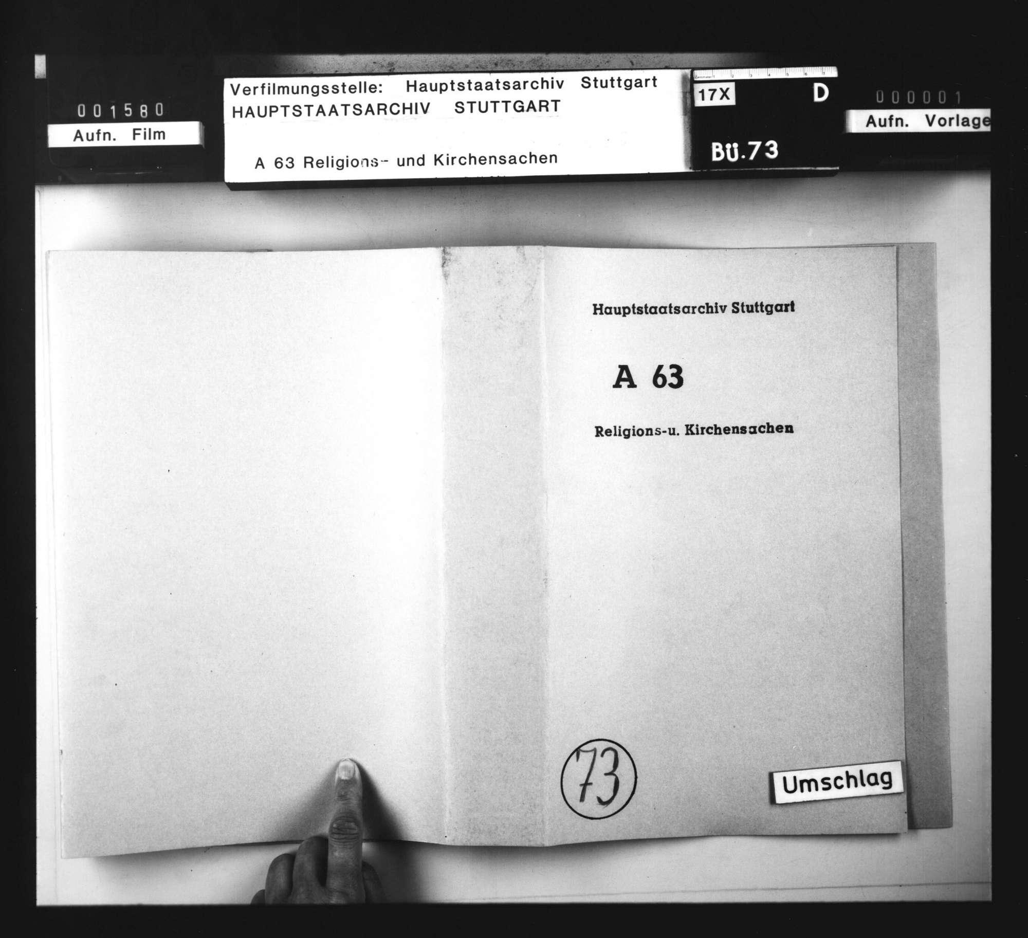 Schriften, betreffend die Konfiskation der Güter von Wiedertäufern in Groß-Gartach und die darüber mit dem Ritterstift in Bruchsal entstandenen Streitigkeiten., Bild 2