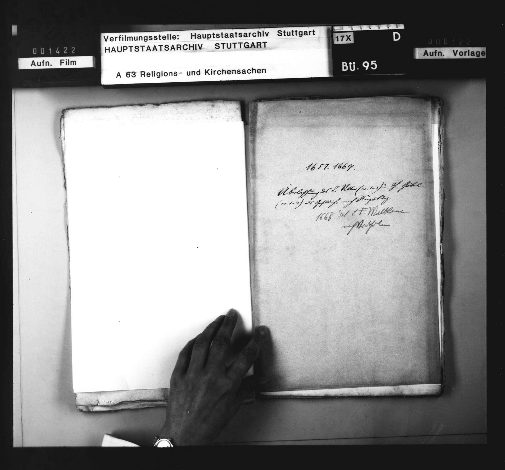 Schriften betreffend die Überlassung von Geistlichen nach Augsburg und nach Stockholm., Bild 3