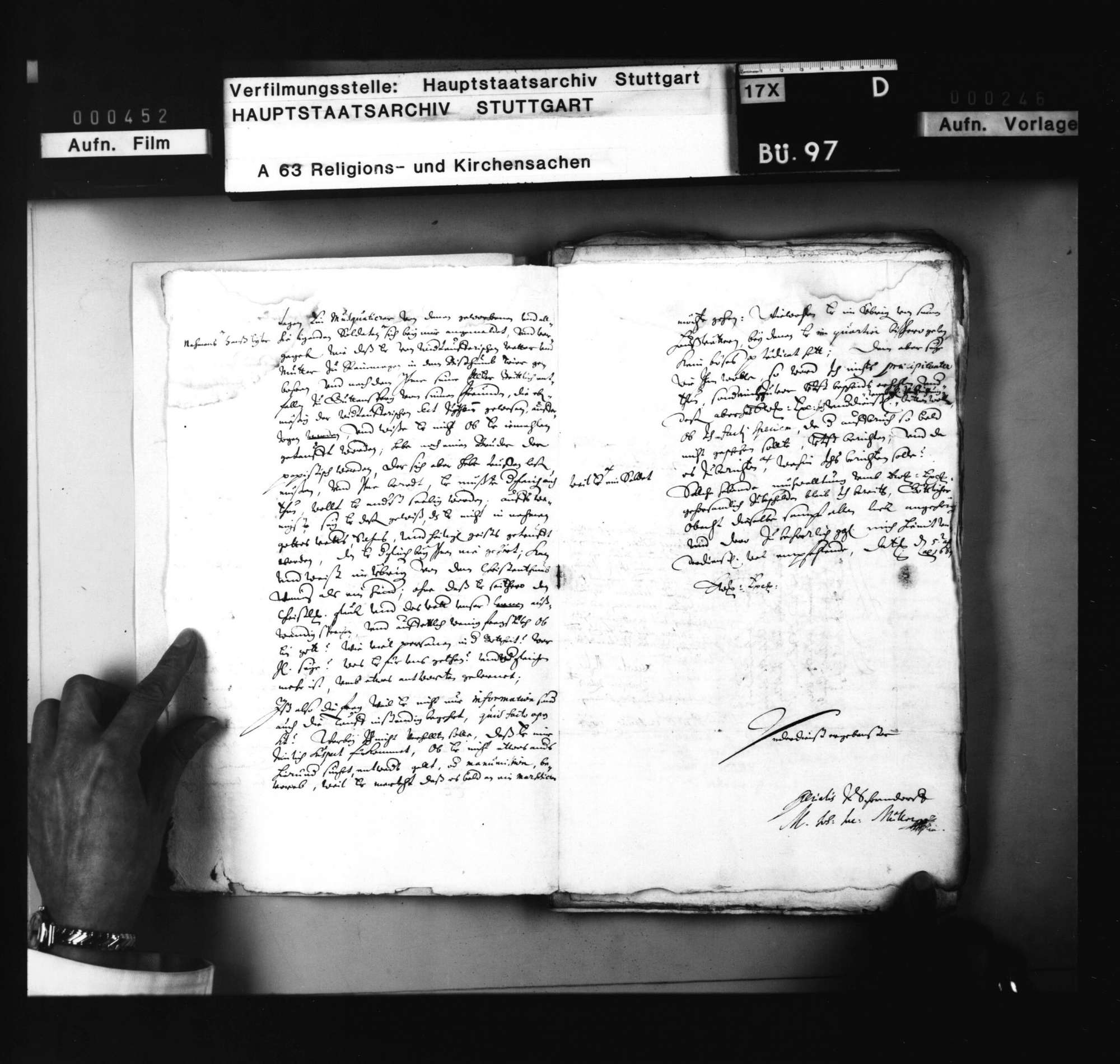 Schriften, betreffend den nach seiner Angabe wiedertäuferischen Soldaten auf Hohenneufen Hans Euler, welcher christlich unterwiesen und getauft zu werden begehrt., Bild 3