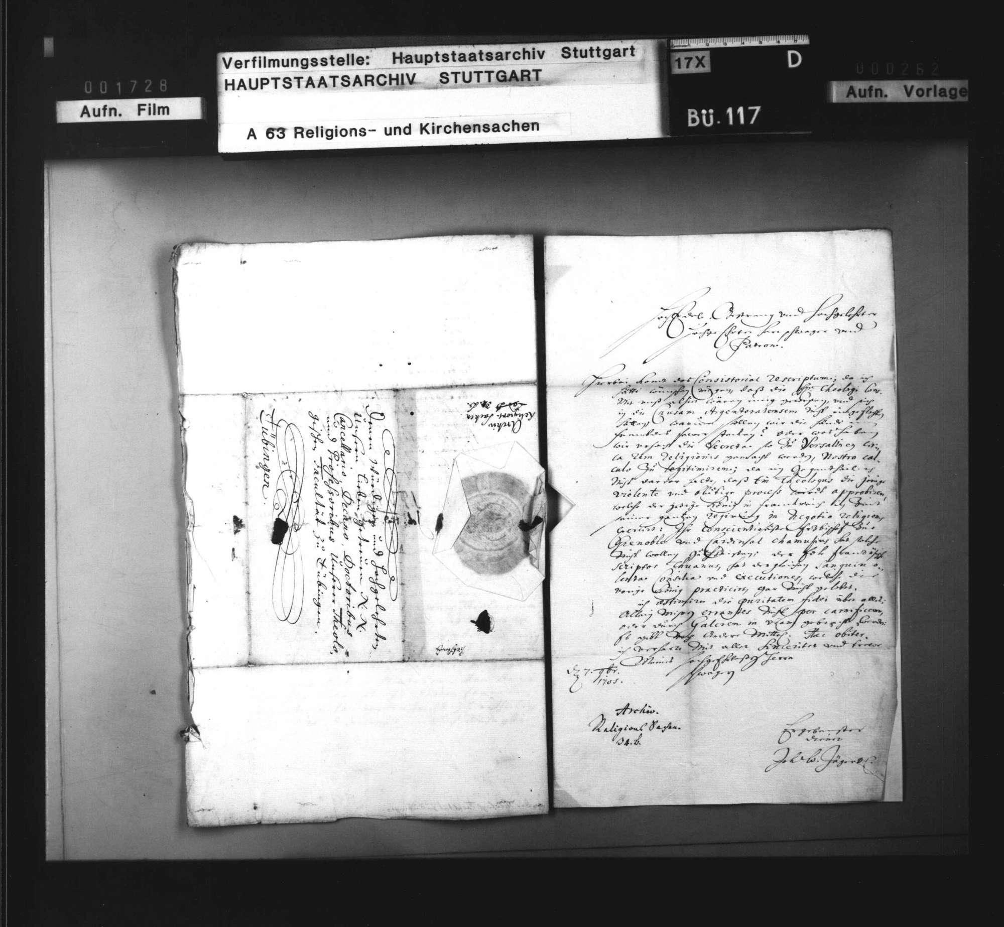 Degradierung des (dissentierenden) Straßburgischen Pfarrers Rödere.r, Bild 3