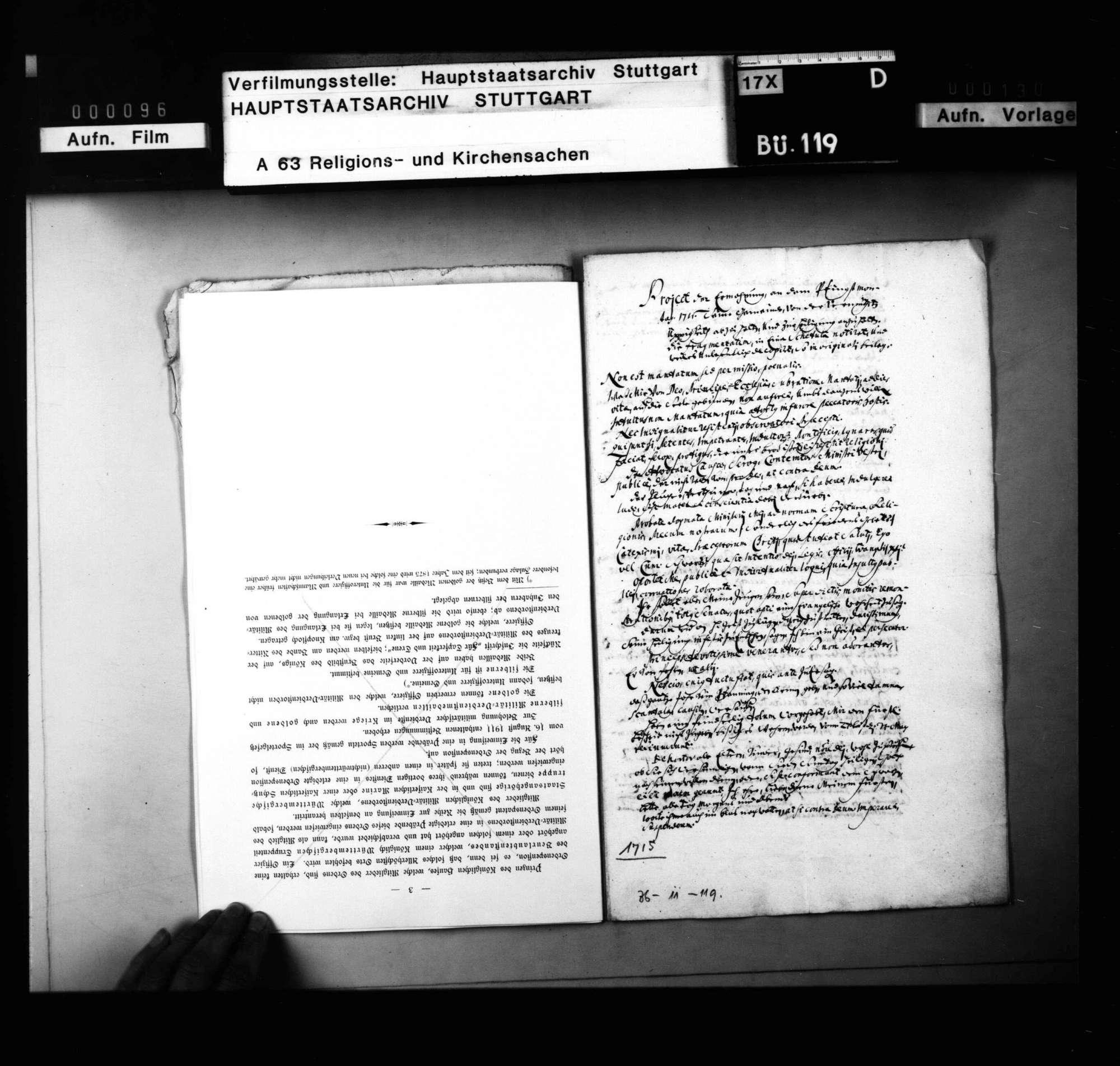 Projekt einer Ermahnung an Pfingstmontag 1715, die Bürgerjugend von der Üppigkeit abzuhalten., Bild 2