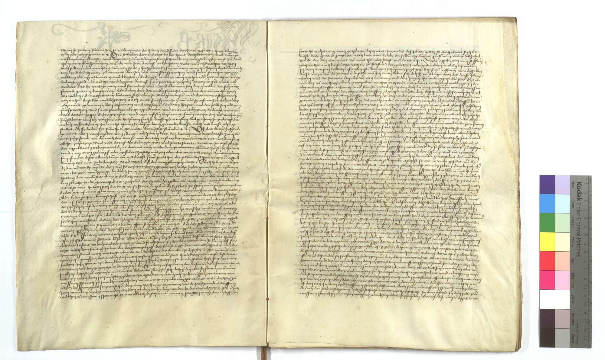 Acta und Urteilsbrief von Bürgermeister und Rat von Esslingen (Eßlingen), dass die von Vaihingen keine Gerechtigkeit haben, mit ihrem Vieh auf Illinger Markung zu treiben., Bild 3