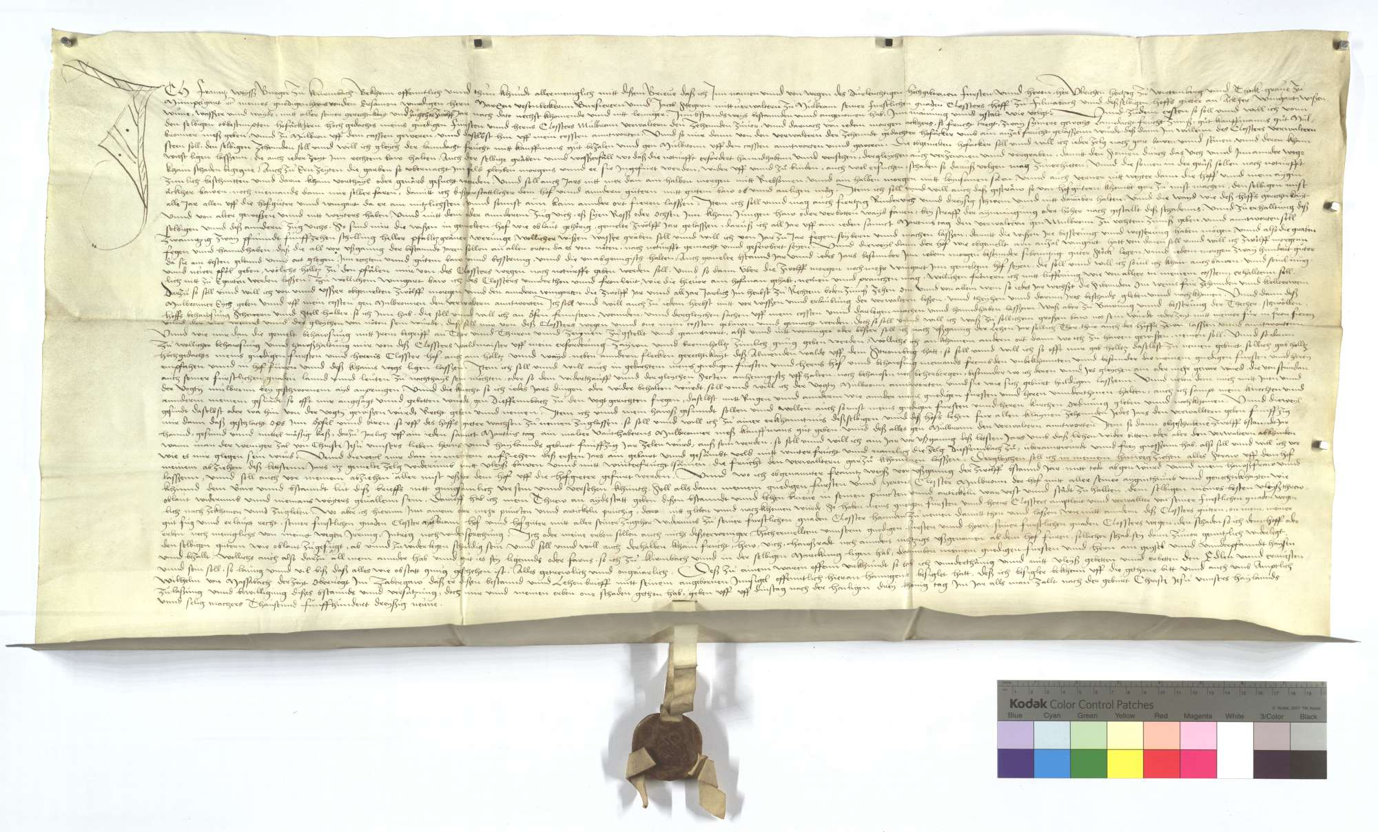 Revers des Franz Weiß (Weyß) um den Füllmenbacher Hof und zugeteilte Güter., Text