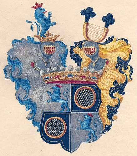 Adelmann von Adelmannsfelden, Grafen Persönliche Verhältnisse der Familie, Bild 1