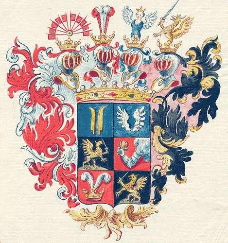 Bissingen und Nippenburg, Grafen von Persönliche Verhältnisse der Familie, Bild 1
