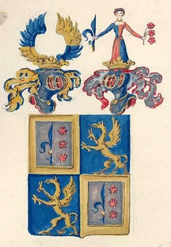 Cotta von Cottendorf, Freiherren Persönliche Verhältnisse der Familie, Bild 1